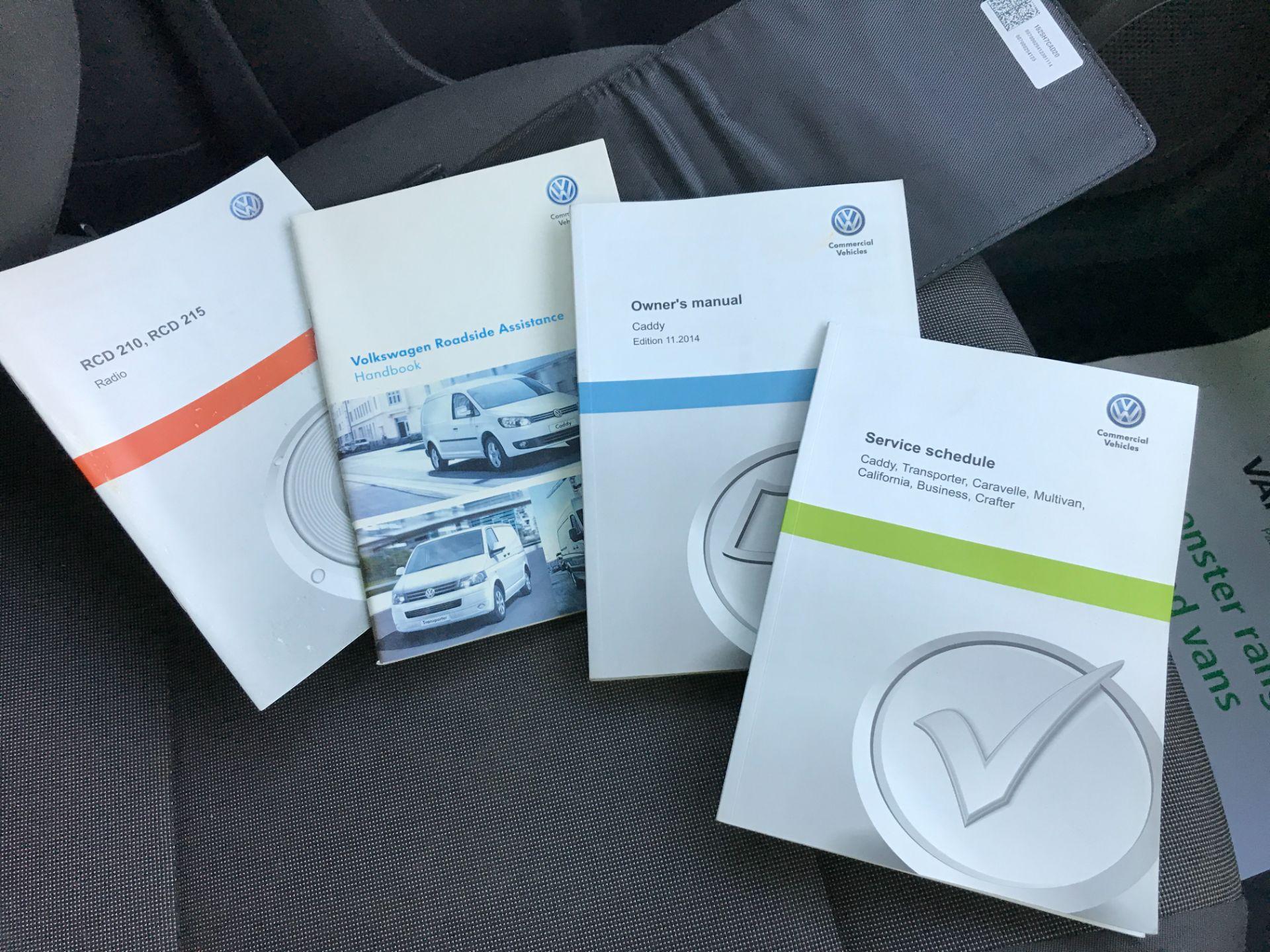 2016 Volkswagen Caddy  2.0TDI BLUEMOTION TECH 102PS STARTLINE EURO 6 (GD66UDZ) Image 27