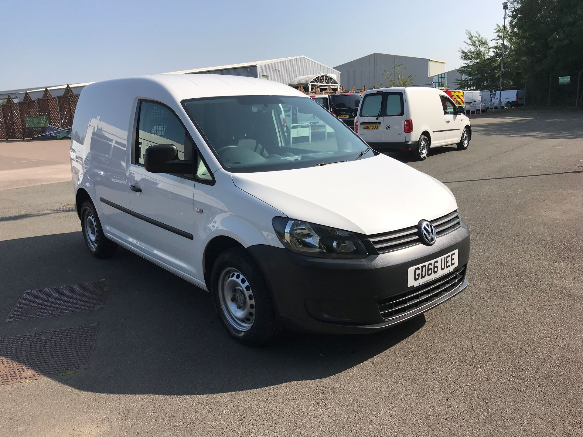 2016 Volkswagen Caddy  1.6 102PS STARTLINE EURO 5 (GD66UEE)