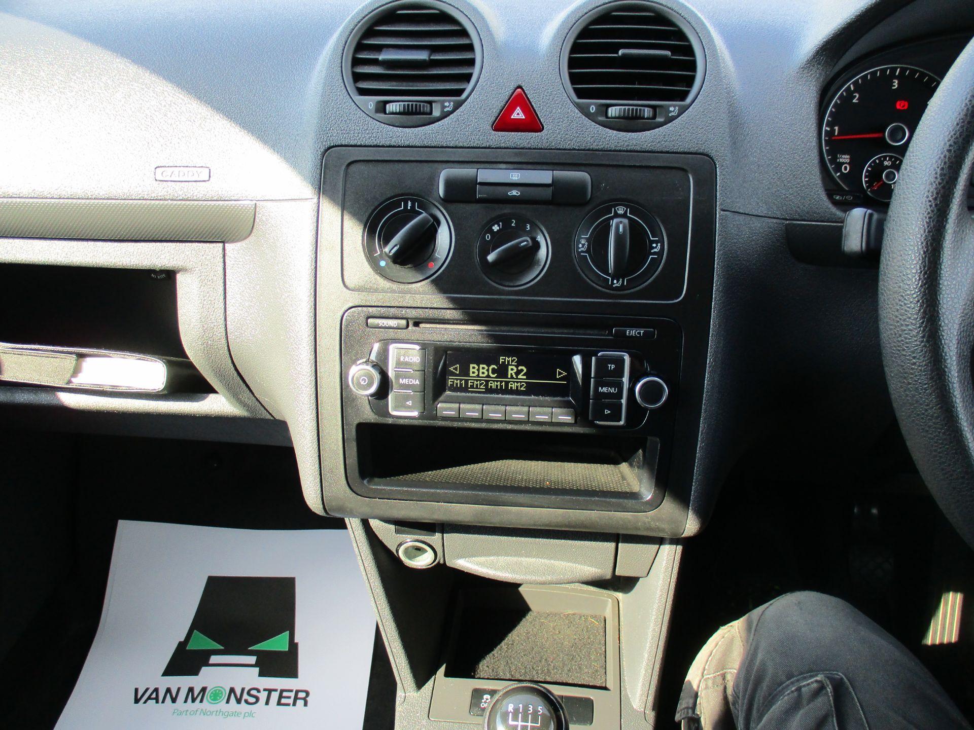 2016 Volkswagen Caddy 1.6 Tdi 102Ps Startline Van (GD66UER) Image 13