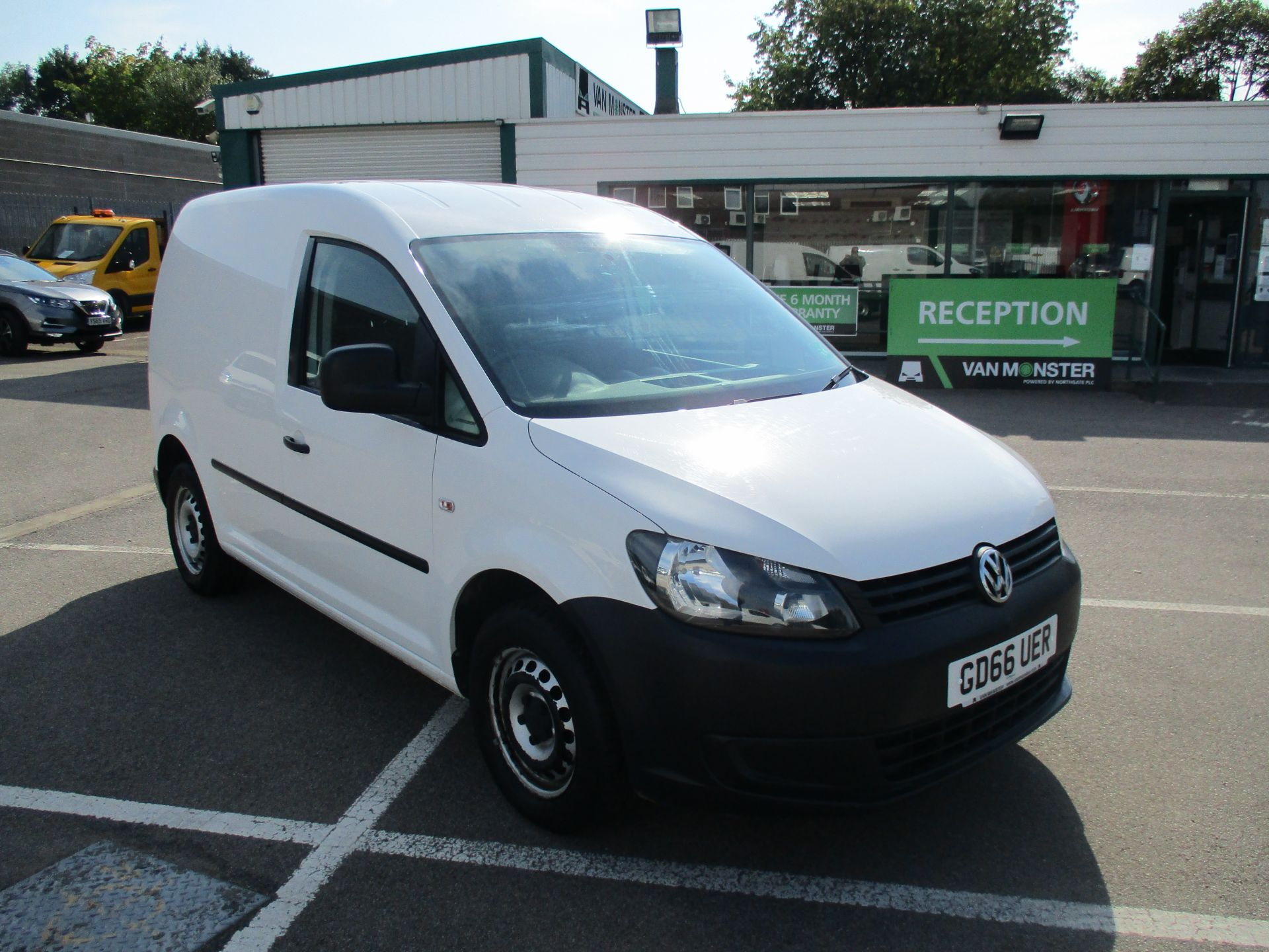 2016 Volkswagen Caddy 1.6 Tdi 102Ps Startline Van (GD66UER)
