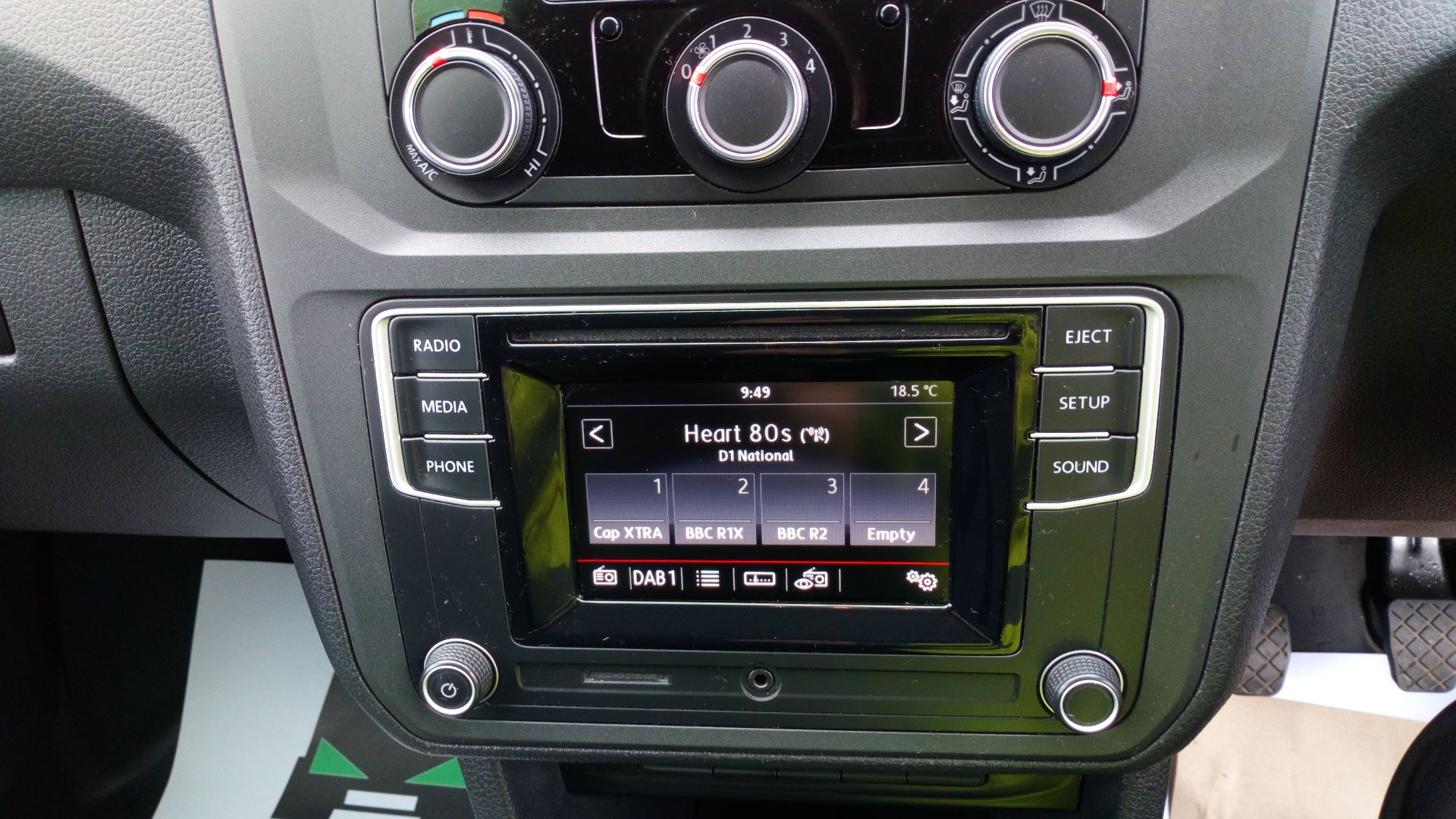 2017 Volkswagen Caddy 2.0 Tdi Bluemotion Tech 102Ps Startline Van (GD66XJK) Image 11