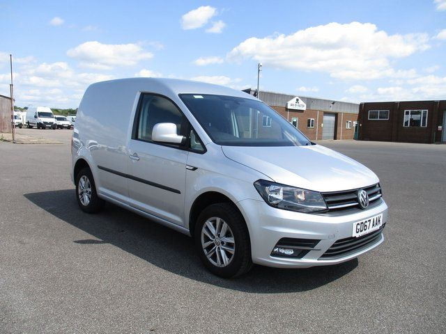 2017 Volkswagen Caddy 2.0 102PS BLUEMOTION TECH 102 HIGHLINE EURO 6. SAT NAV AND AIR CON (GD67AAK)