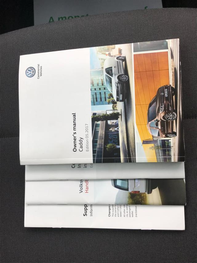 2017 Volkswagen Caddy  2.0 102PS BLUEMOTION TECH 102 STARTLINE EURO 6 (GD67DJY) Image 28