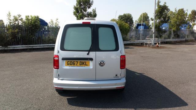 2017 Volkswagen Caddy 2.0 Tdi Bluemotion Tech 102Ps Highline Van (GD67DKL) Image 6