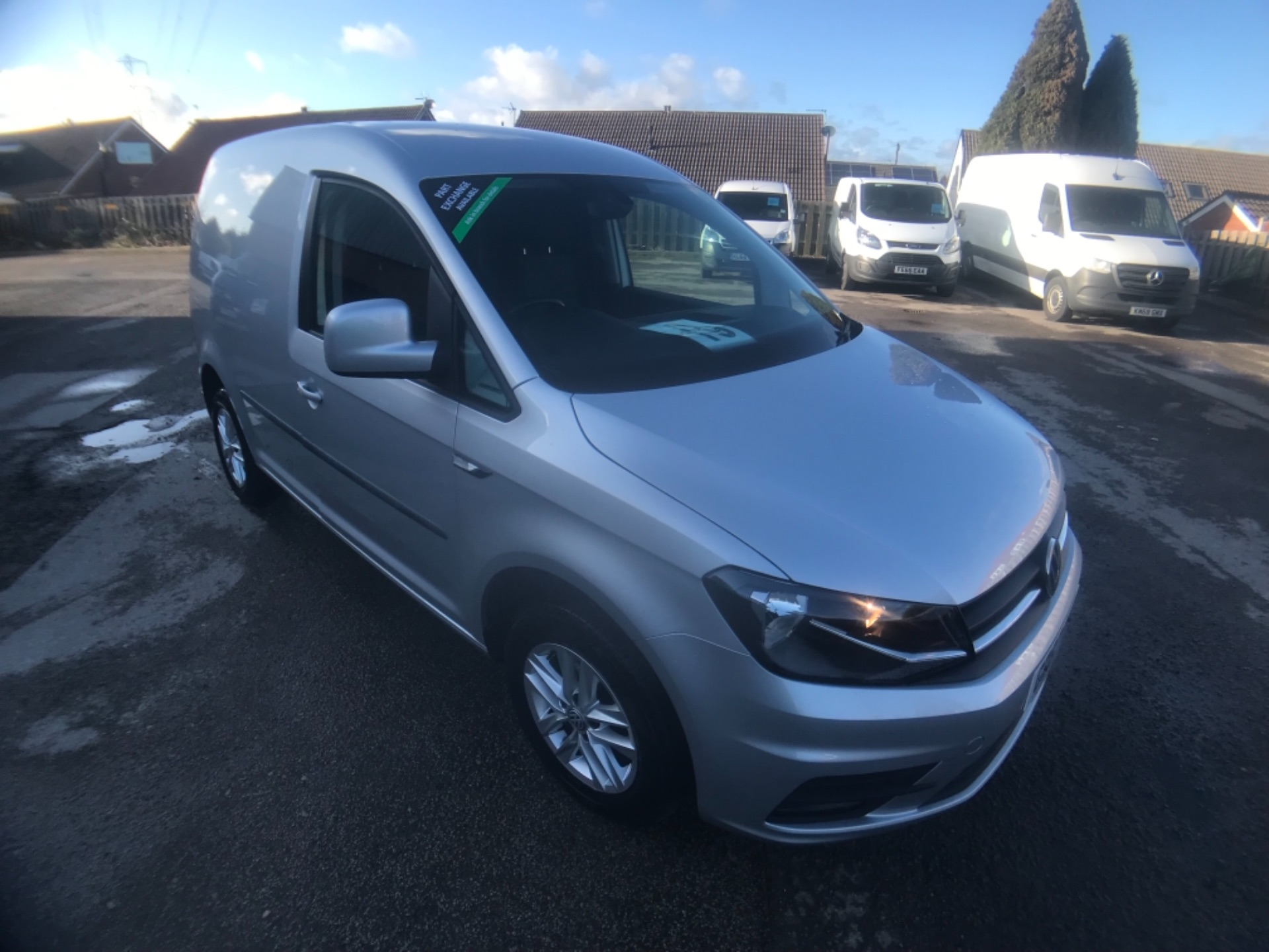 2018 Volkswagen Caddy 2.0 Tdi Bluemotion Tech 102Ps Highline Van (GD67DMO)