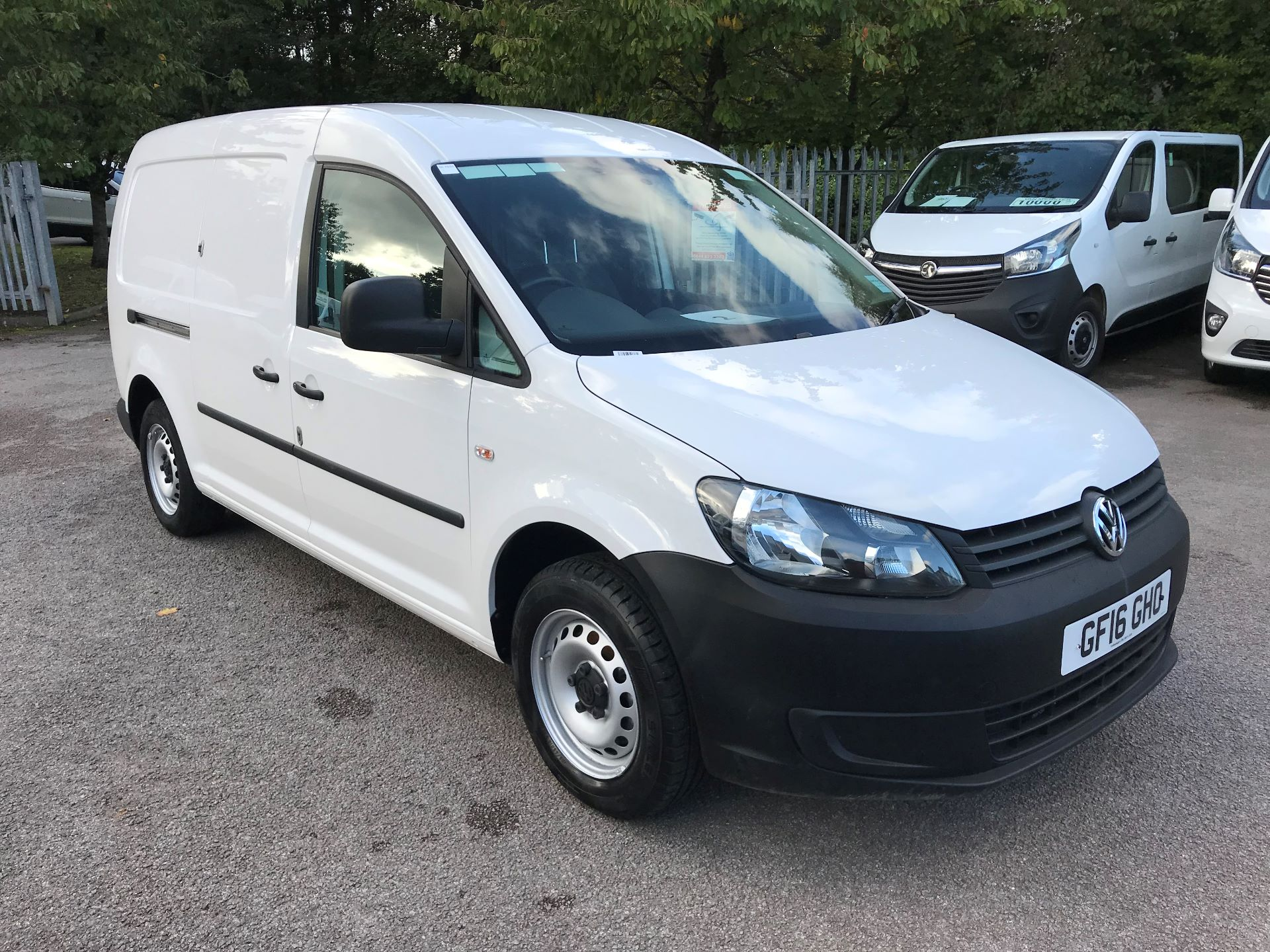 2016 Volkswagen Caddy  1.6 102PS STARTLINE EURO 5 (GF16GHO) Thumbnail 1
