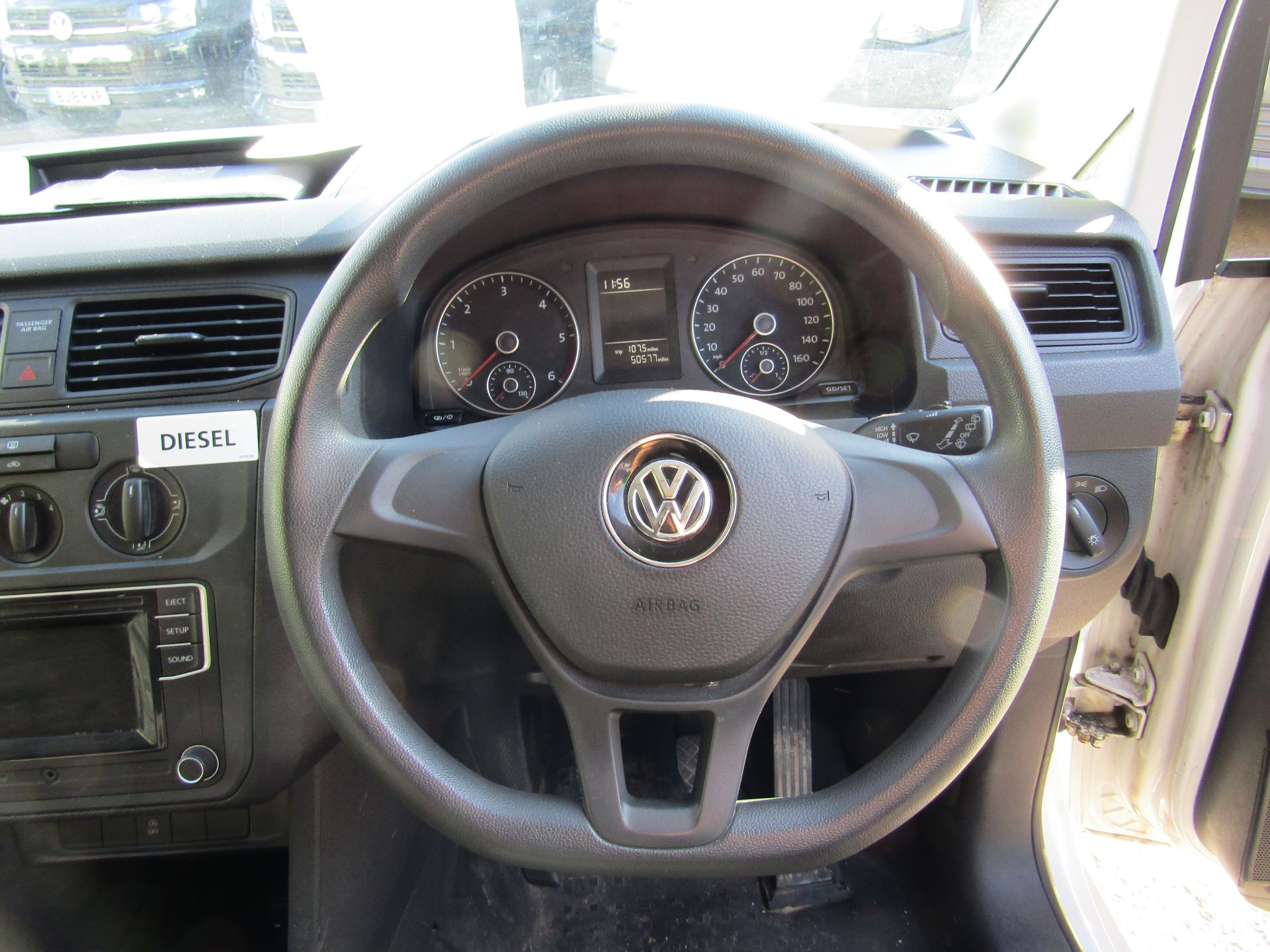 2016 Volkswagen Caddy  2.0 102PS BLUEMOTION TECH 102 STARTLINE EURO 6 (GF16KVU) Image 9