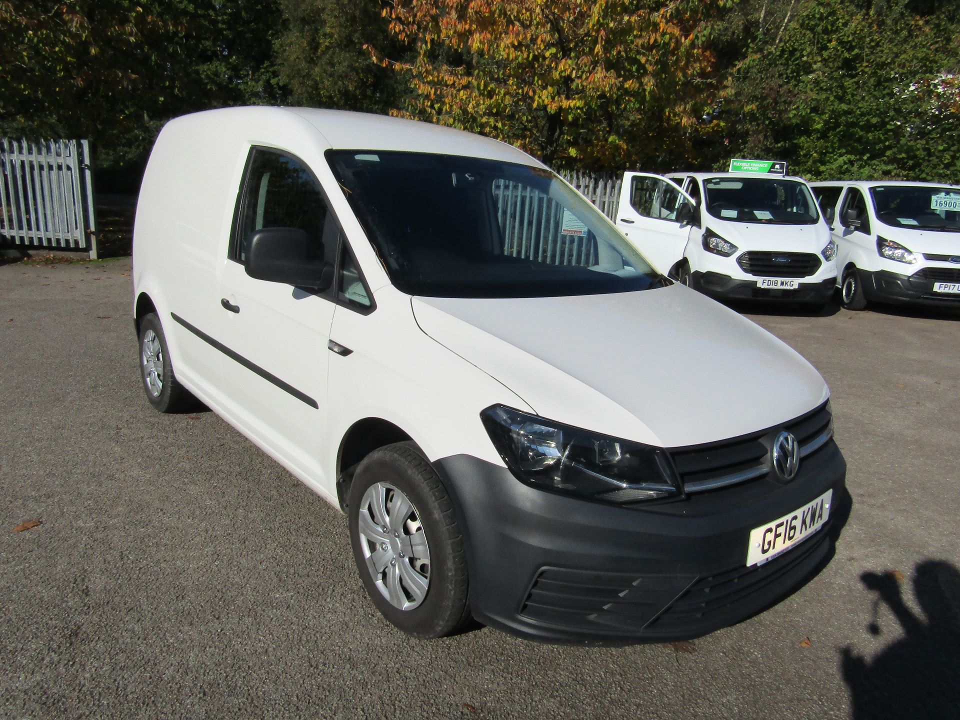 2016 Volkswagen Caddy  2.0 102PS BLUEMOTION TECH 102 STARTLINE EURO 6 (GF16KWA)