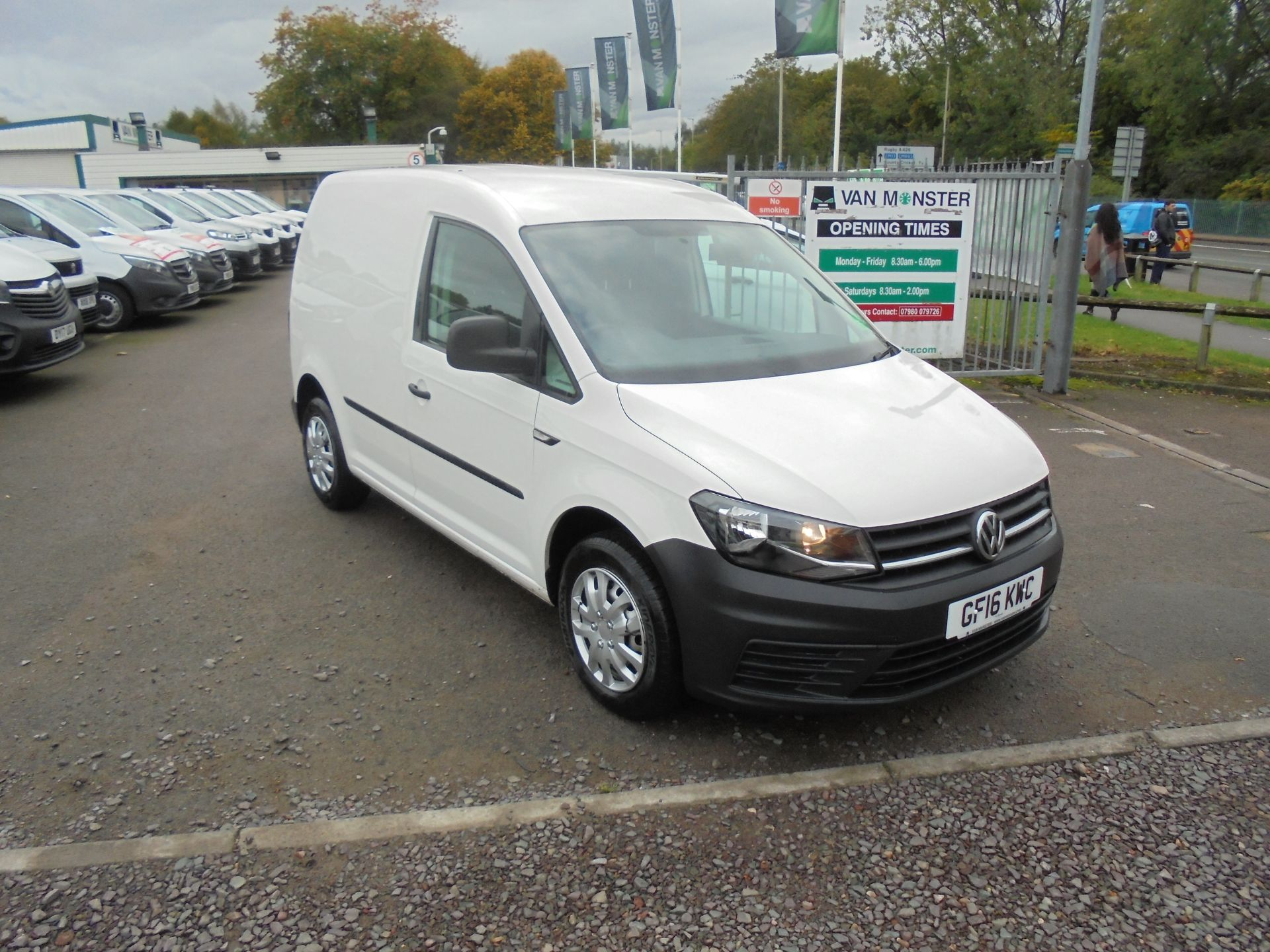 2016 Volkswagen Caddy  2.0 102PS BLUEMOTION TECH 102 STARTLINE EURO 6 (GF16KWC)