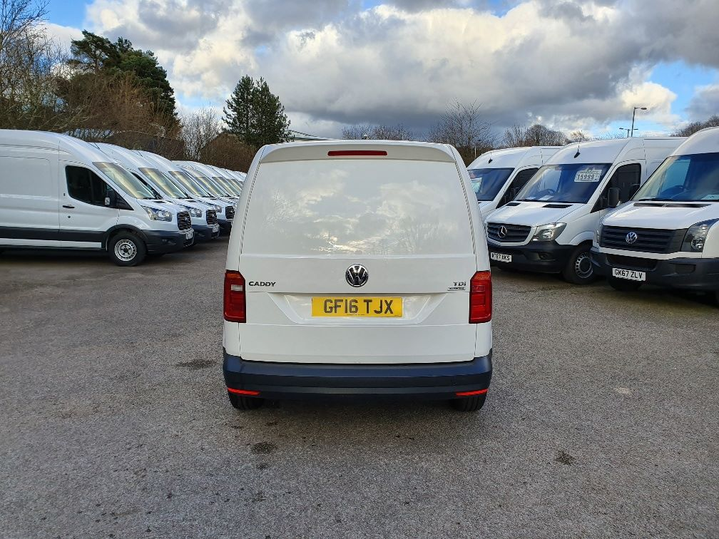2016 Volkswagen Caddy  2.0 102PS BLUEMOTION TECH 102 STARTLINE EURO 6 (GF16TJX) Thumbnail 9