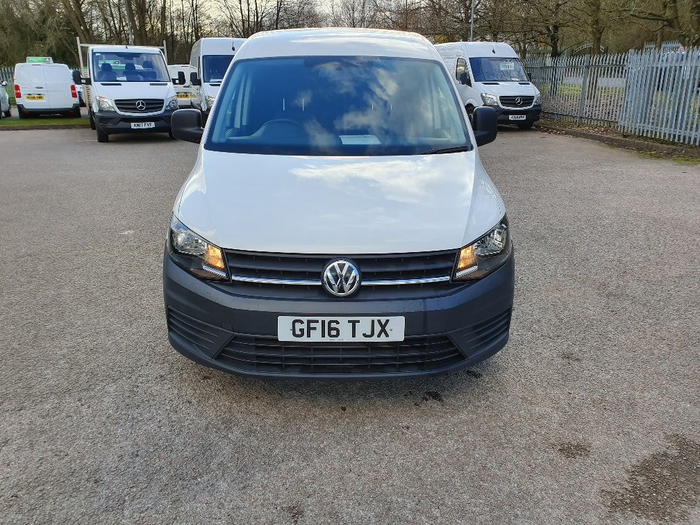 2016 Volkswagen Caddy  2.0 102PS BLUEMOTION TECH 102 STARTLINE EURO 6 (GF16TJX) Thumbnail 2