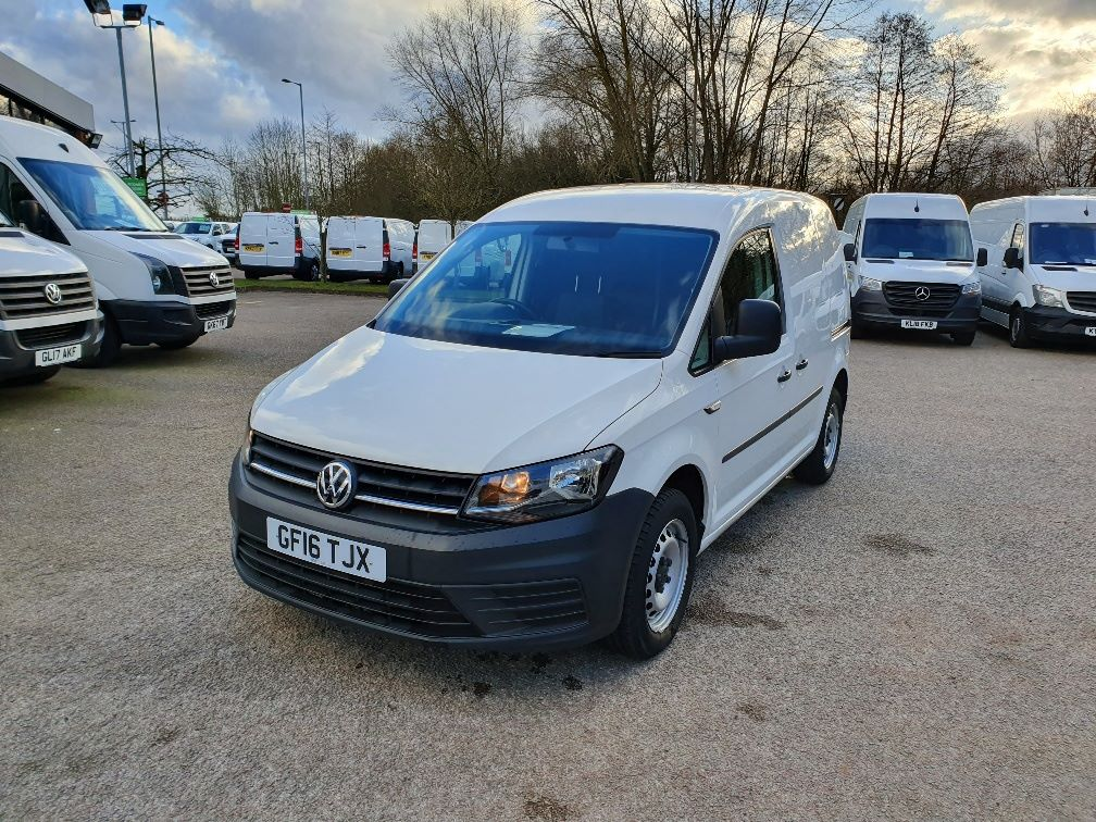 2016 Volkswagen Caddy  2.0 102PS BLUEMOTION TECH 102 STARTLINE EURO 6 (GF16TJX) Thumbnail 3