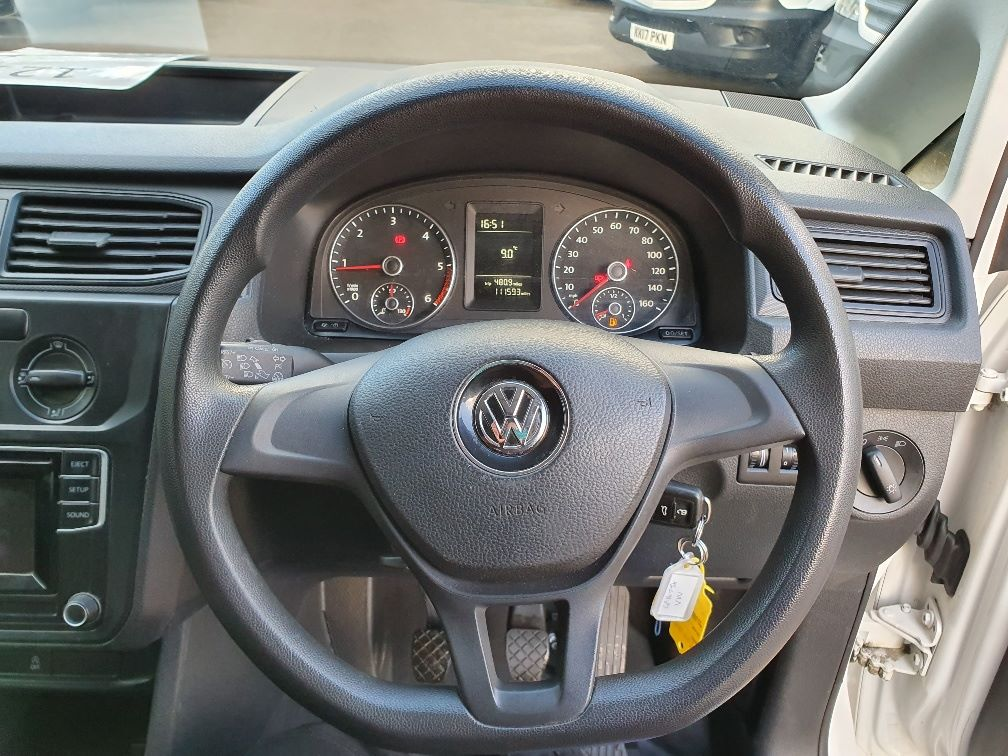 2016 Volkswagen Caddy  2.0 102PS BLUEMOTION TECH 102 STARTLINE EURO 6 (GF16TJX) Thumbnail 8