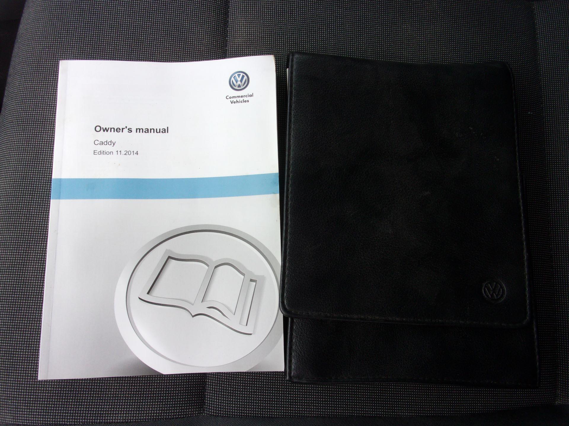 2017 Volkswagen Caddy C20 1.6 TDI 75PS STARTLINE VAN EURO 5 (GF17AVK) Image 21