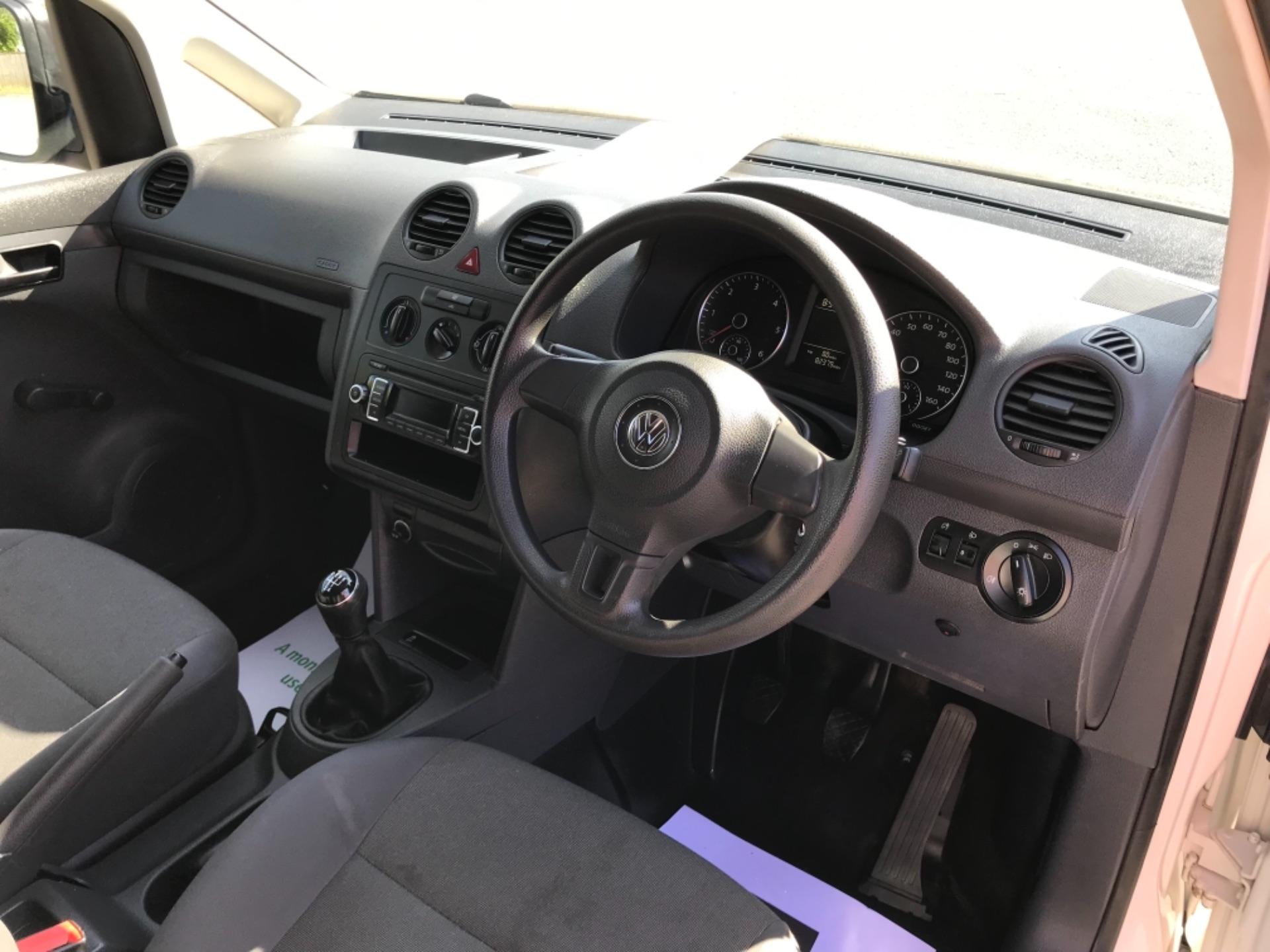 2017 Volkswagen Caddy 1.6 Tdi 75Ps Startline Van (GF17AVN) Image 11