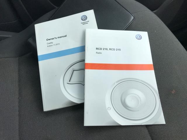 2017 Volkswagen Caddy 1.6TDI 75PS STARTLINE EURO 5 (GF17AWW) Image 21