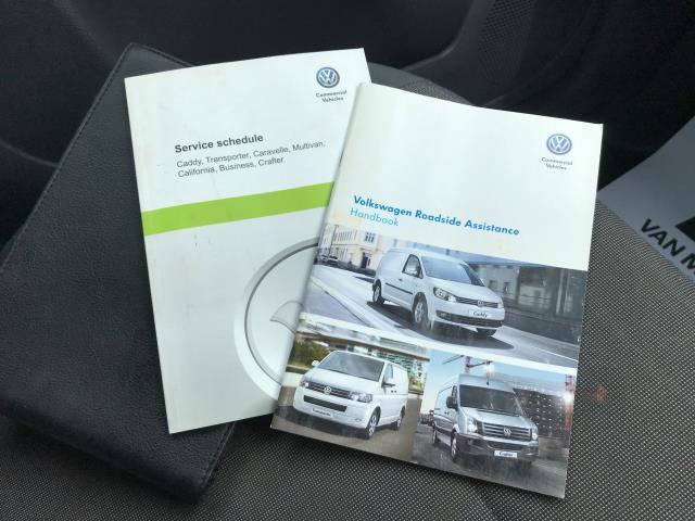 2017 Volkswagen Caddy 1.6TDI 75PS STARTLINE EURO 5 (GF17AWW) Image 22