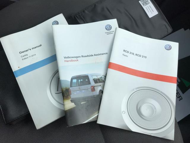 2017 Volkswagen Caddy 1.6TDI 75PS STARTLINE EURO 5 (GF17AWX) Image 23