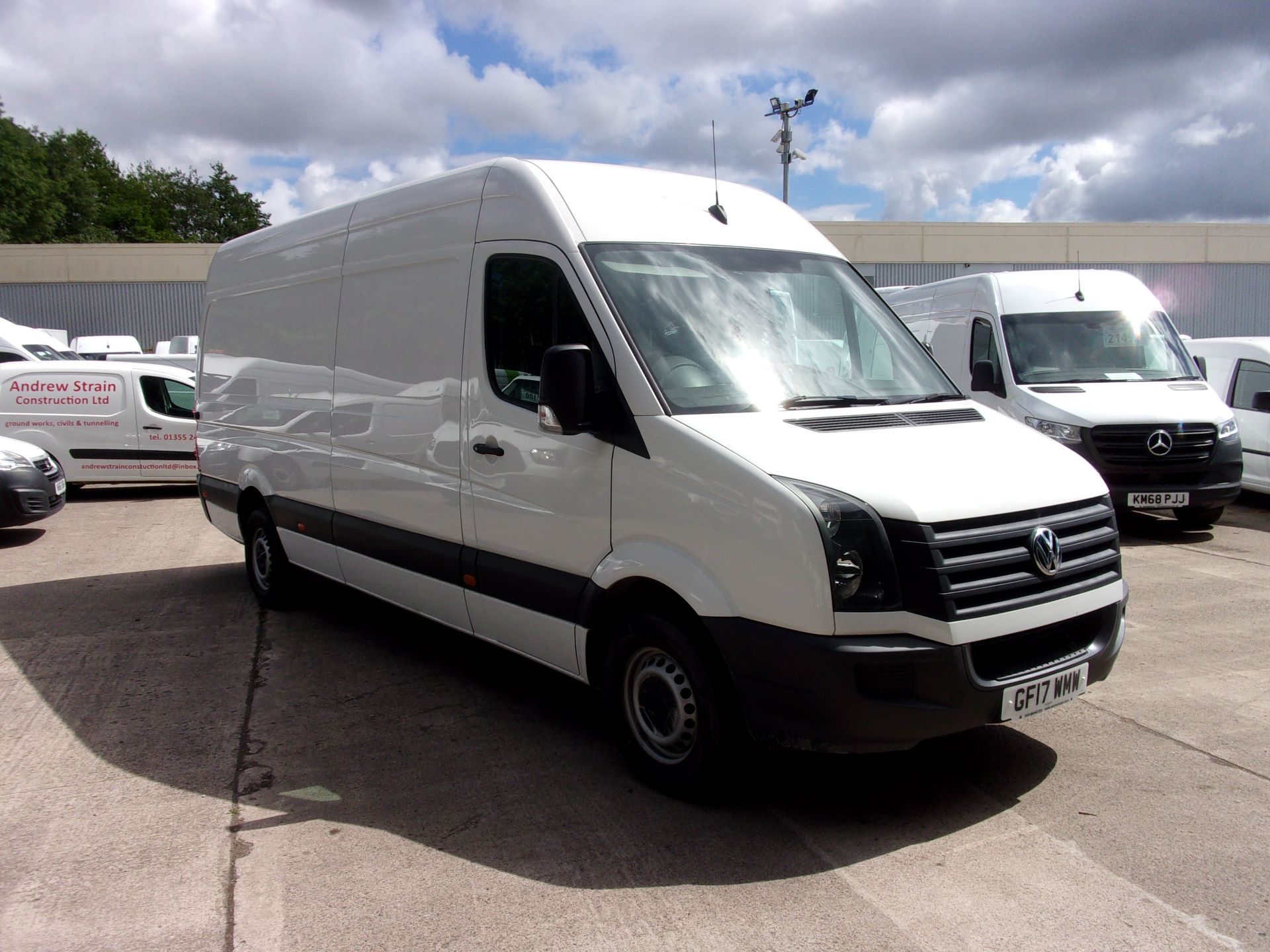 2017 Volkswagen Crafter CR35 LWB DIESEL 2.0 TDI 140PS BMT HIGH ROOF EURO 6 (GF17WMW)