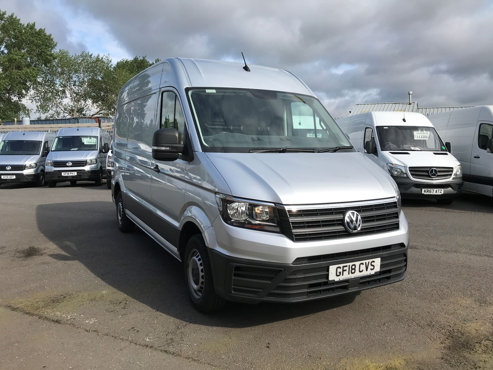 2018 Volkswagen Crafter CR35 MWB HIGH ROOF 2.0TDI 140PS STARTLINE EURO 6 (GF18CVS)