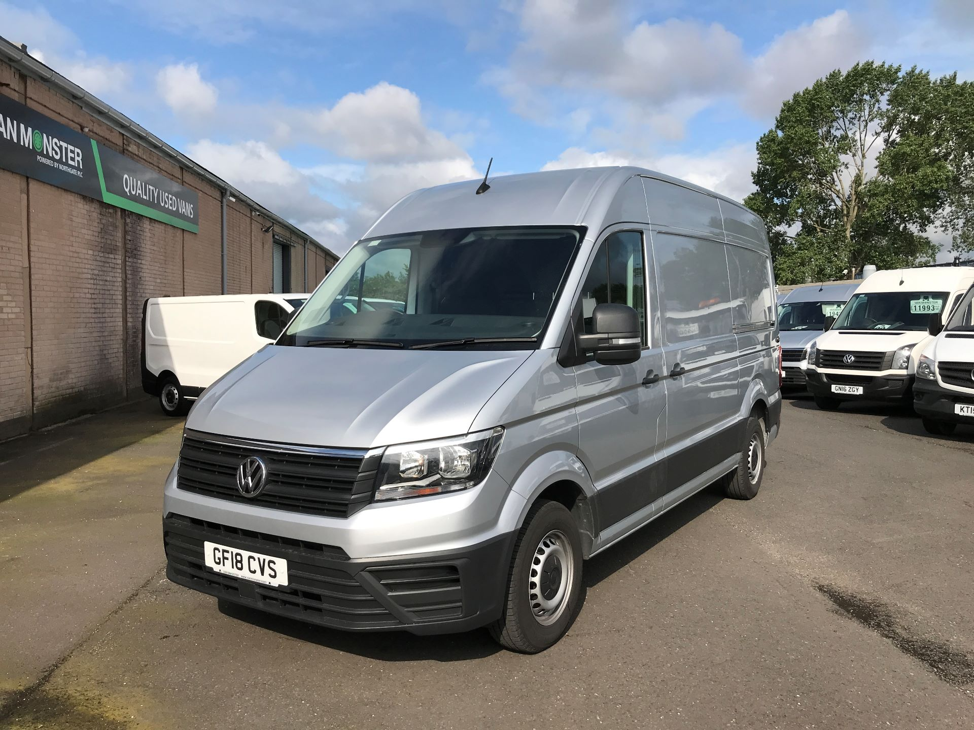2018 Volkswagen Crafter CR35 MWB HIGH ROOF 2.0TDI 140PS STARTLINE EURO 6 (GF18CVS) Image 13