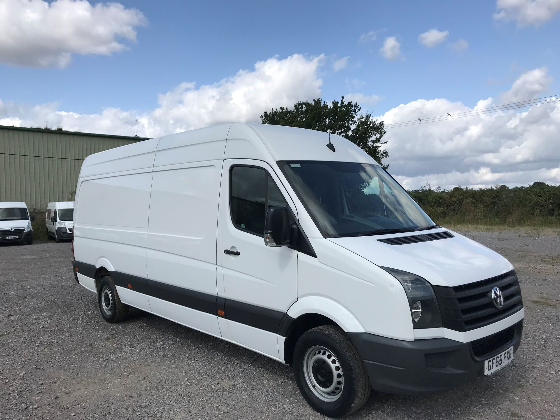 2015 Volkswagen Crafter  CR35 LWB 2.0 TDI 136PS HIGH ROOF EURO 5 (GF65FXG)