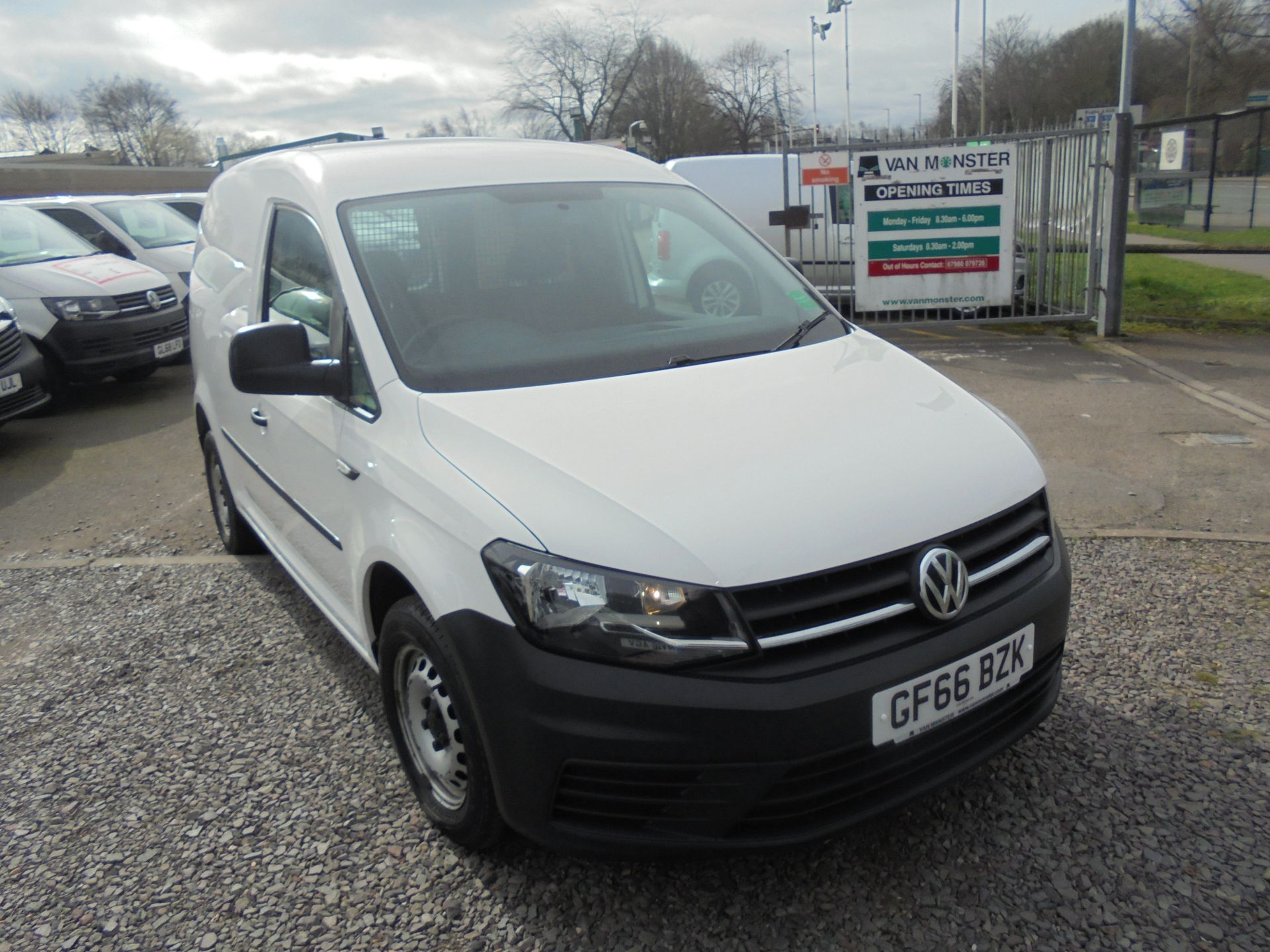 2016 Volkswagen Caddy 1.6 TDI BLUEMOTION TECH 75PS EURO 5 (GF66BZK)