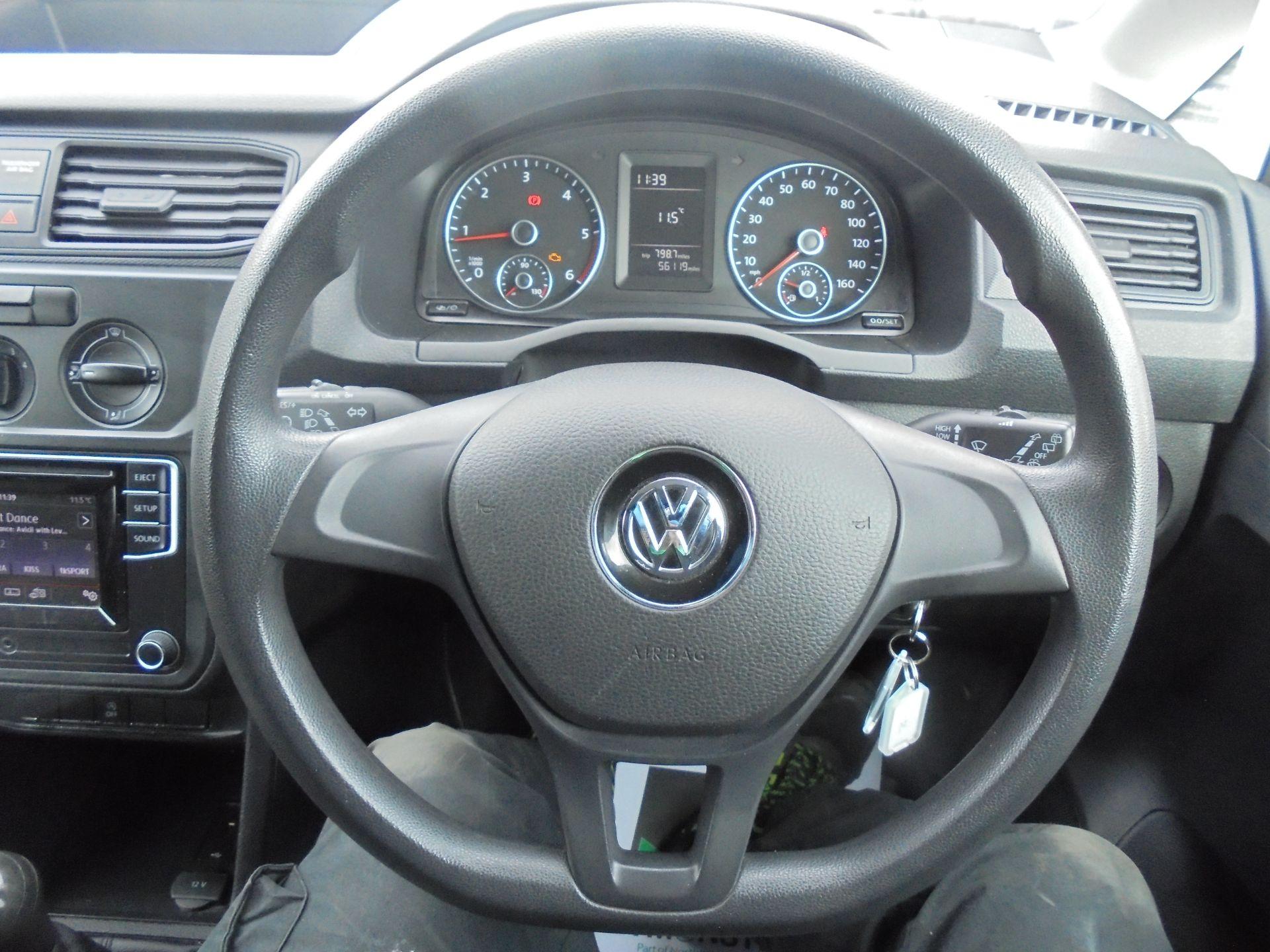 2016 Volkswagen Caddy 1.6 TDI BLUEMOTION TECH 75PS EURO 5 (GF66BZK) Image 15