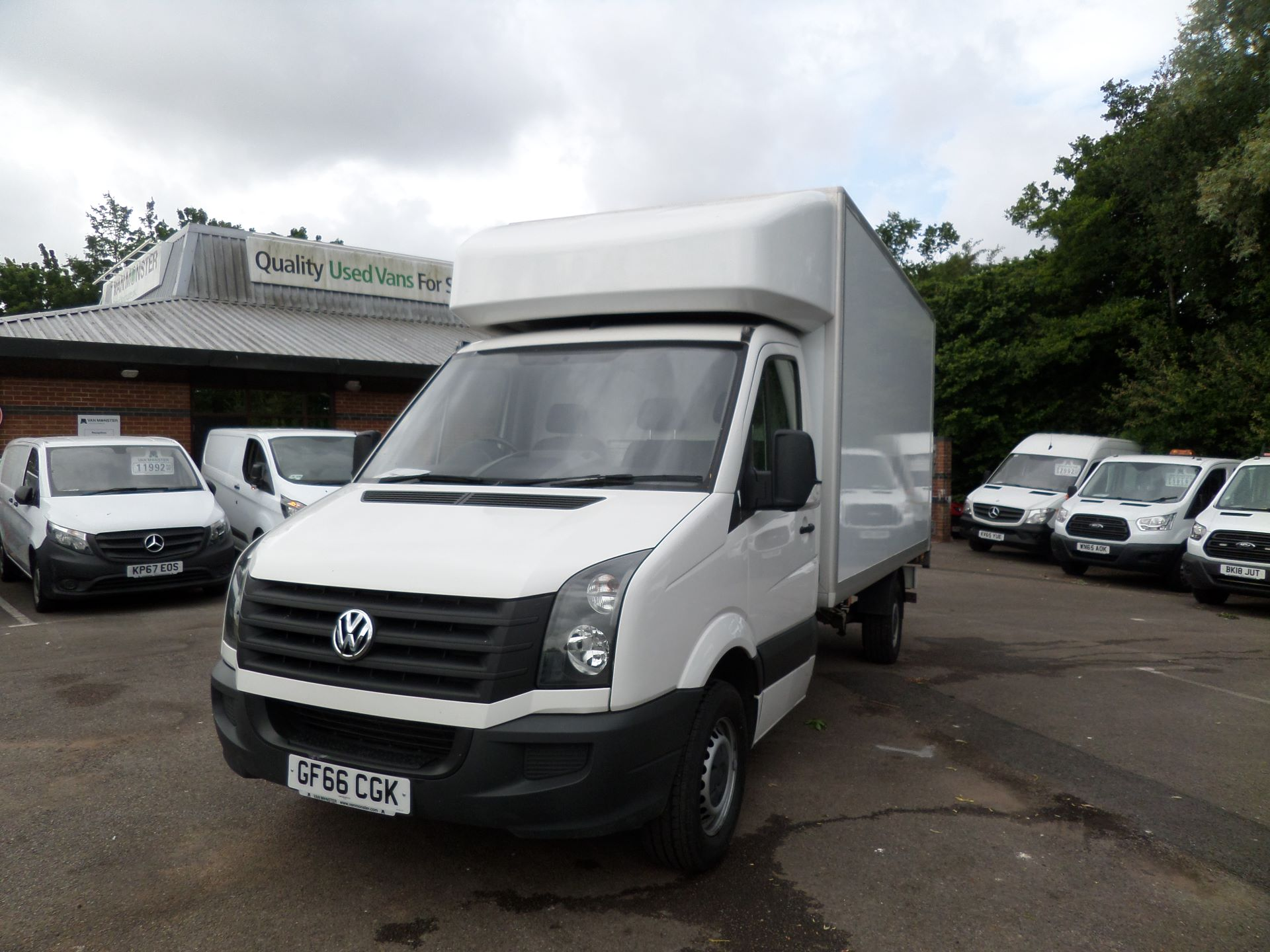 2016 Volkswagen Crafter 2.0 Tdi 136Ps Luton Tail lift (GF66CGK) Image 9