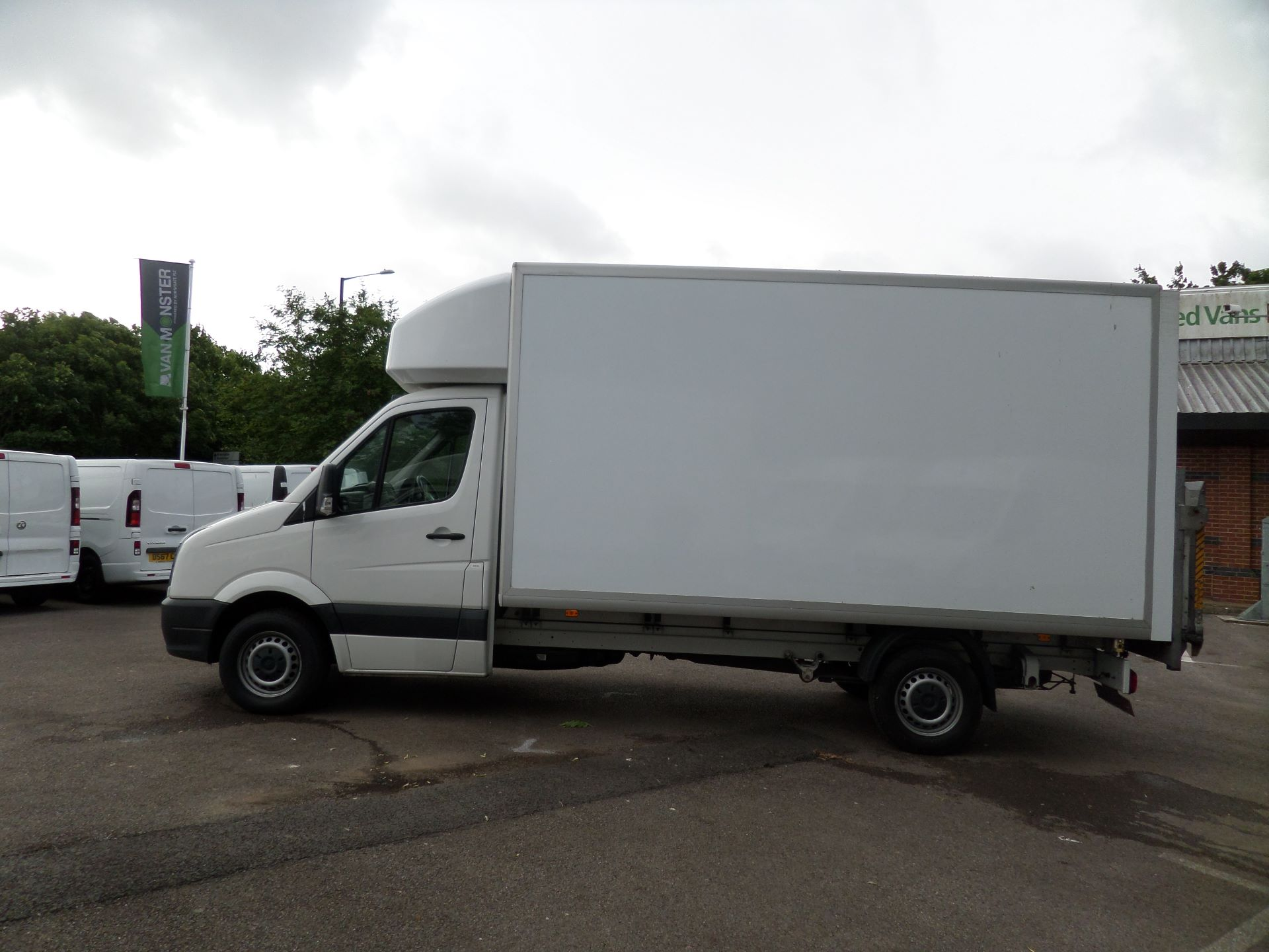 2016 Volkswagen Crafter 2.0 Tdi 136Ps Luton Tail lift (GF66CGK) Image 7