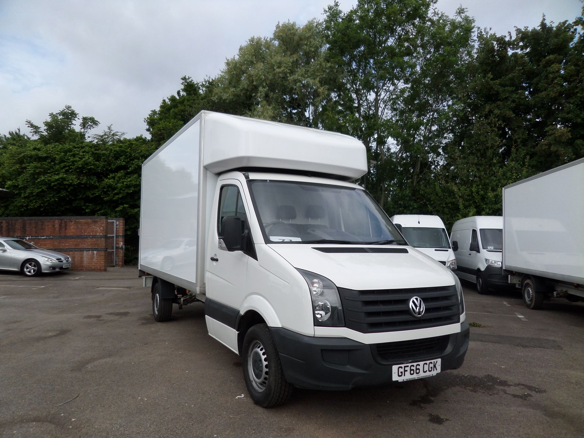 2016 Volkswagen Crafter 2.0 Tdi 136Ps Luton Tail lift (GF66CGK) Image 1