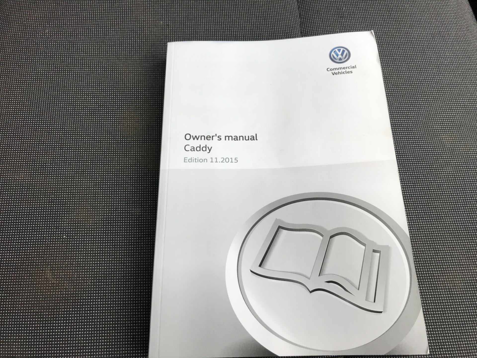2016 Volkswagen Caddy 2.0TDI BLUEMOTION TECH 75PS STARTLINE EURO 6 (GF66MDE) Image 21