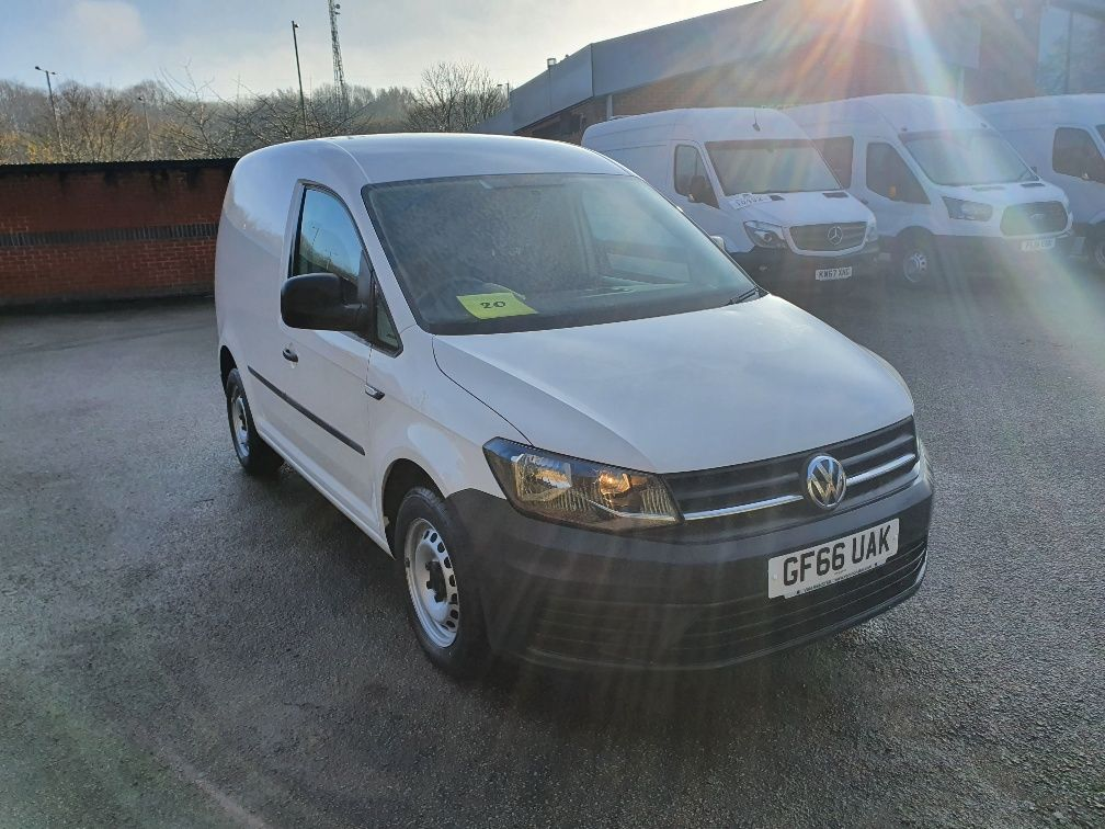 2016 Volkswagen Caddy 1.6 Tdi Bluemotion Tech 75Ps Van (GF66UAK)