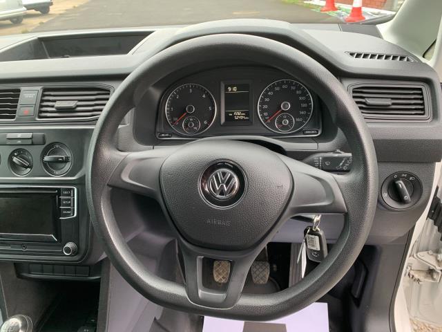 2016 Volkswagen Caddy 1.6 TDI BMT 102Ps STARTLINE VAN *SPEED RESTRICTED @ 79MPH* (GF66UAN) Image 15