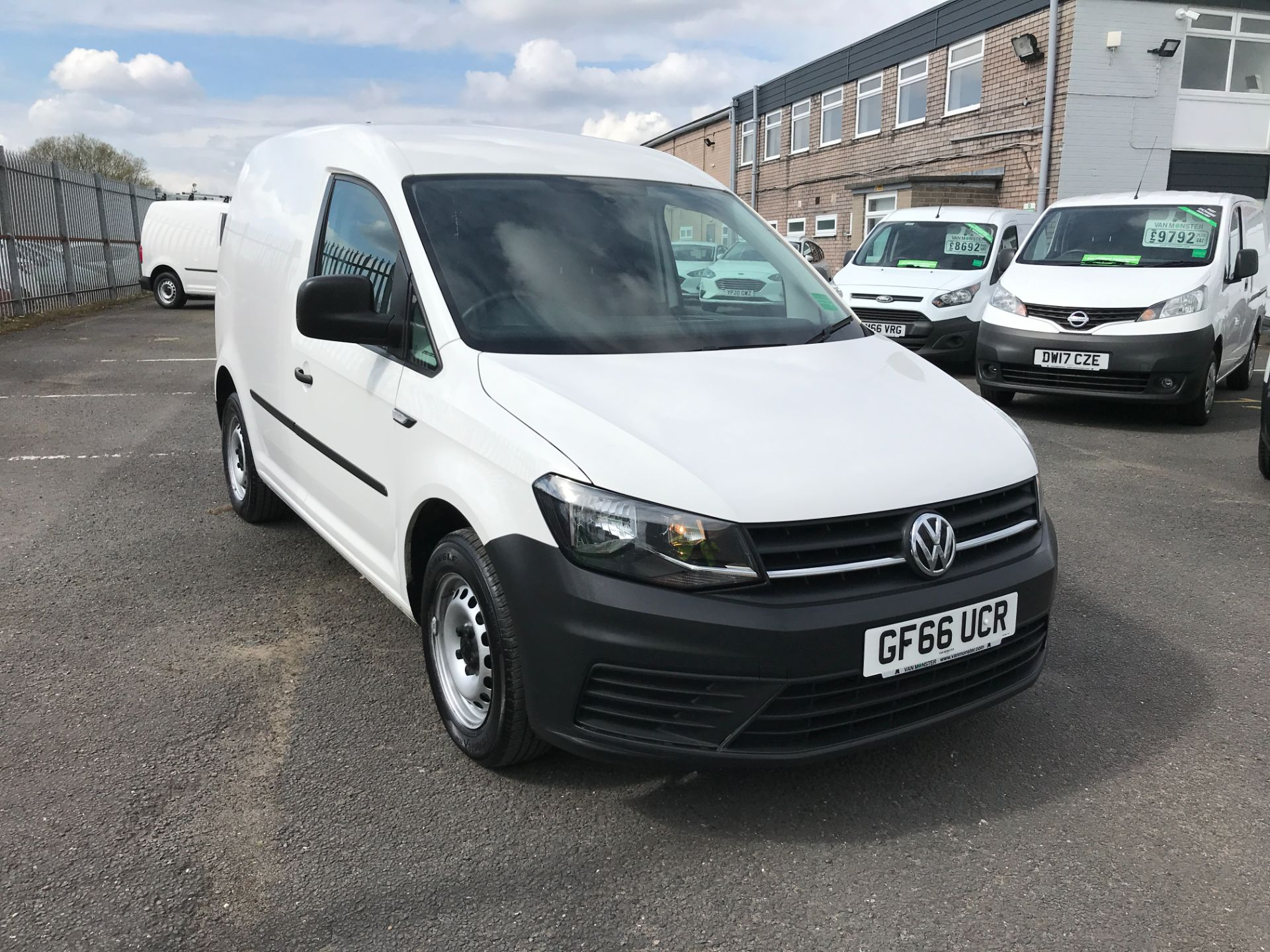 2016 Volkswagen Caddy 1.6TDI BLUEMOTION TECH 75PS STARTLINE EURO 6 (GF66UCR)