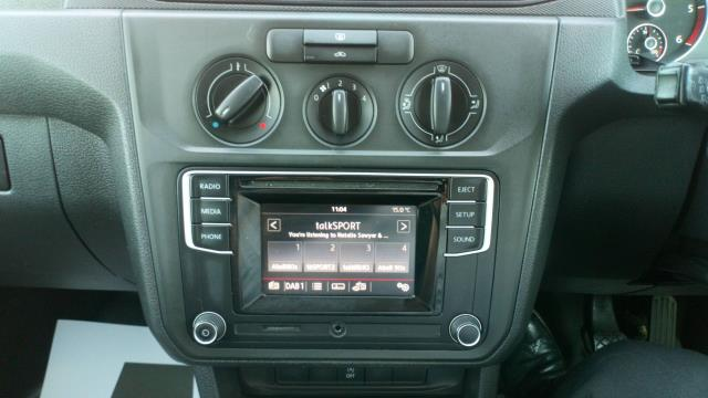 2016 Volkswagen Caddy 1.6 Tdi Bluemotion Tech 75Ps Van (GF66UZT) Image 16