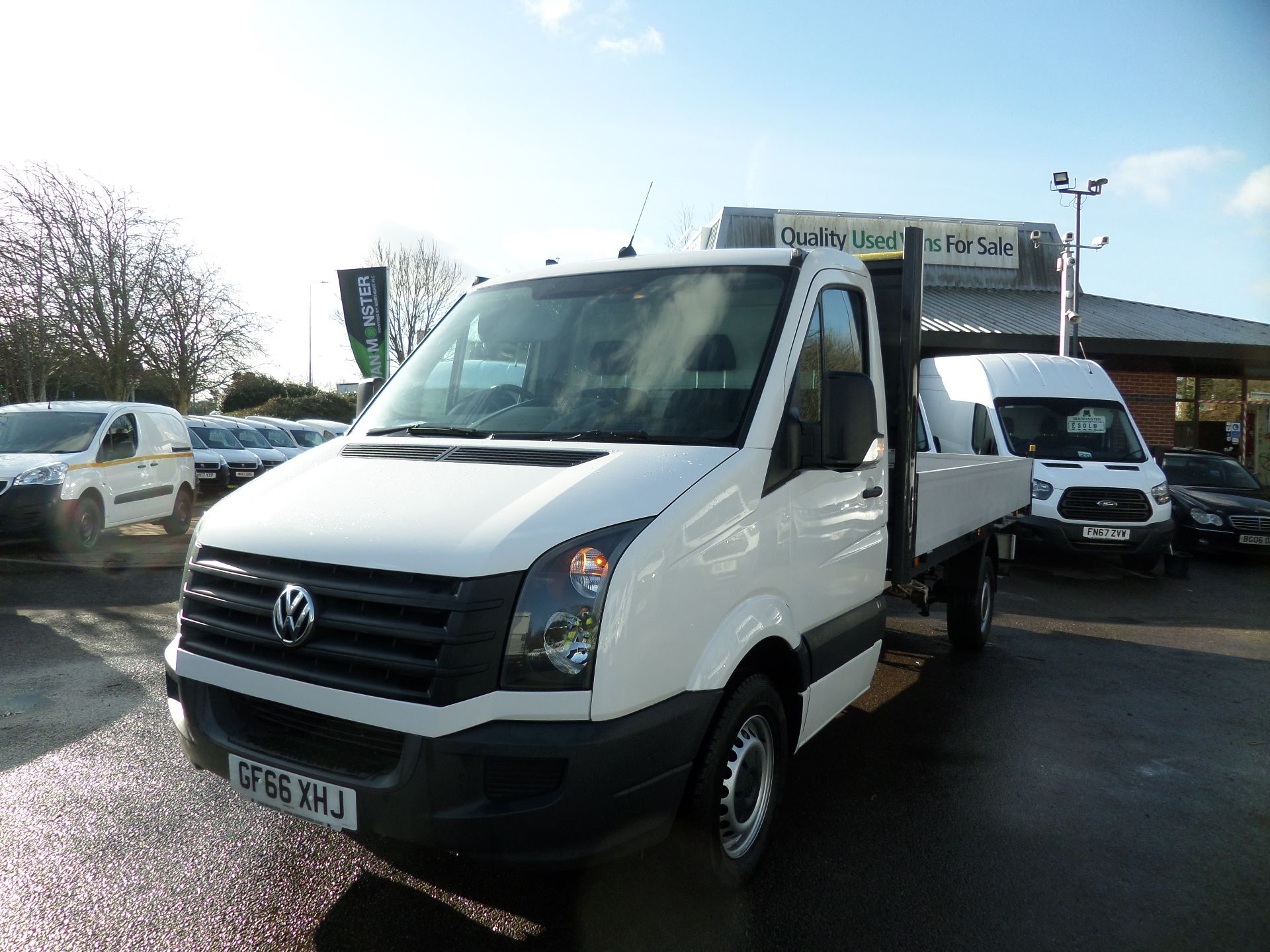 2016 Volkswagen Crafter 2.0 Tdi 136Ps Dropside Euro 5 (GF66XHJ) Image 8