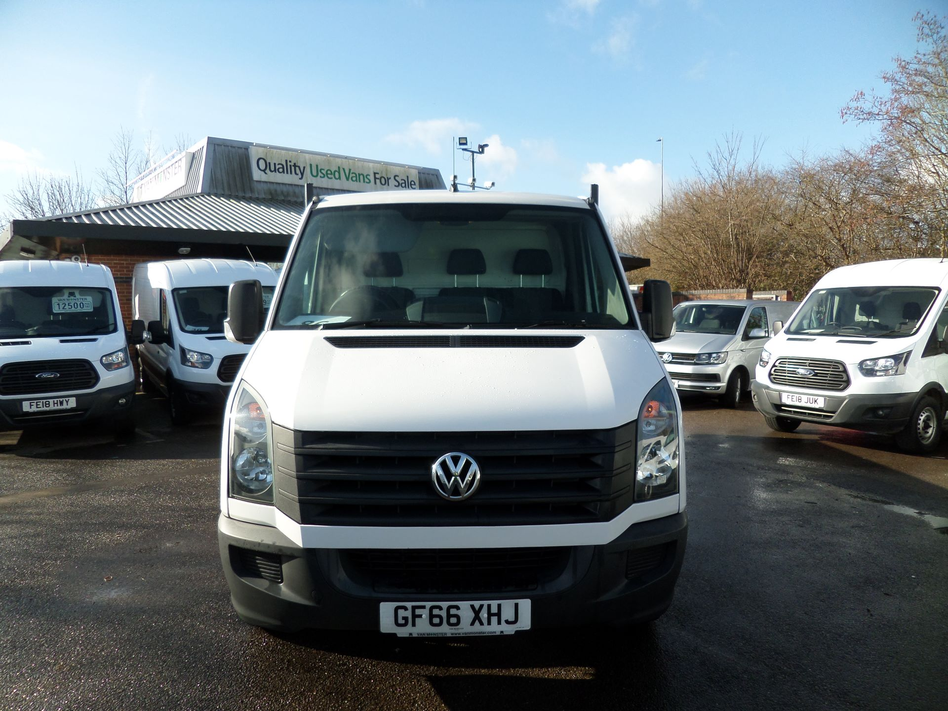 2016 Volkswagen Crafter 2.0 Tdi 136Ps Dropside Euro 5 (GF66XHJ) Image 9