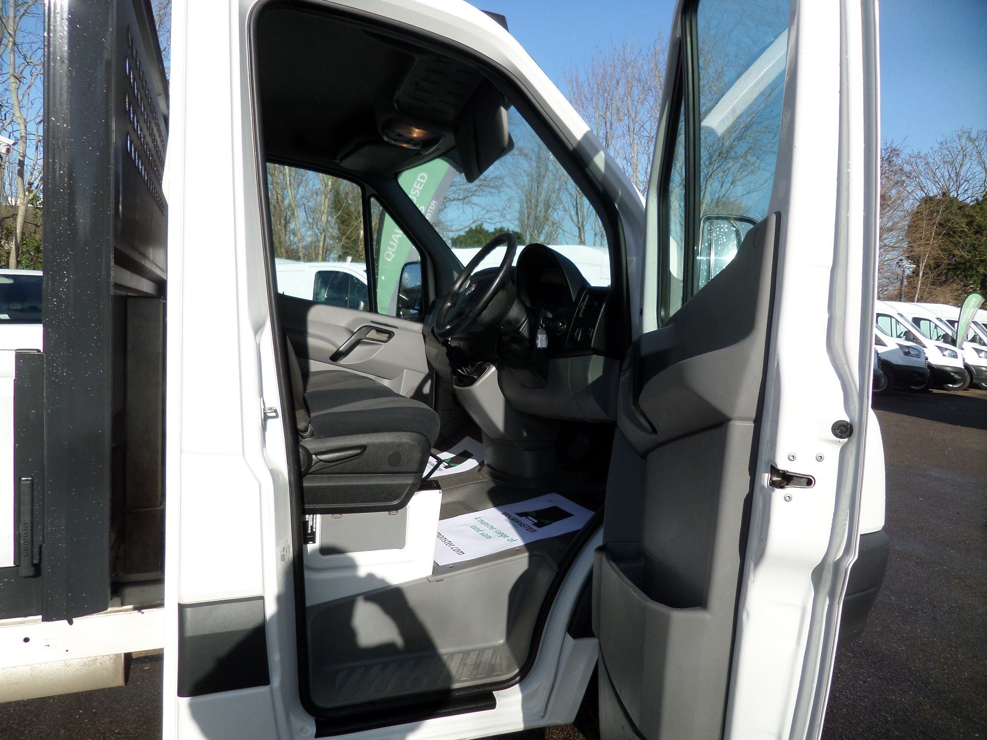 2016 Volkswagen Crafter 2.0 Tdi 136Ps Dropside Euro 5 (GF66XHJ) Image 10