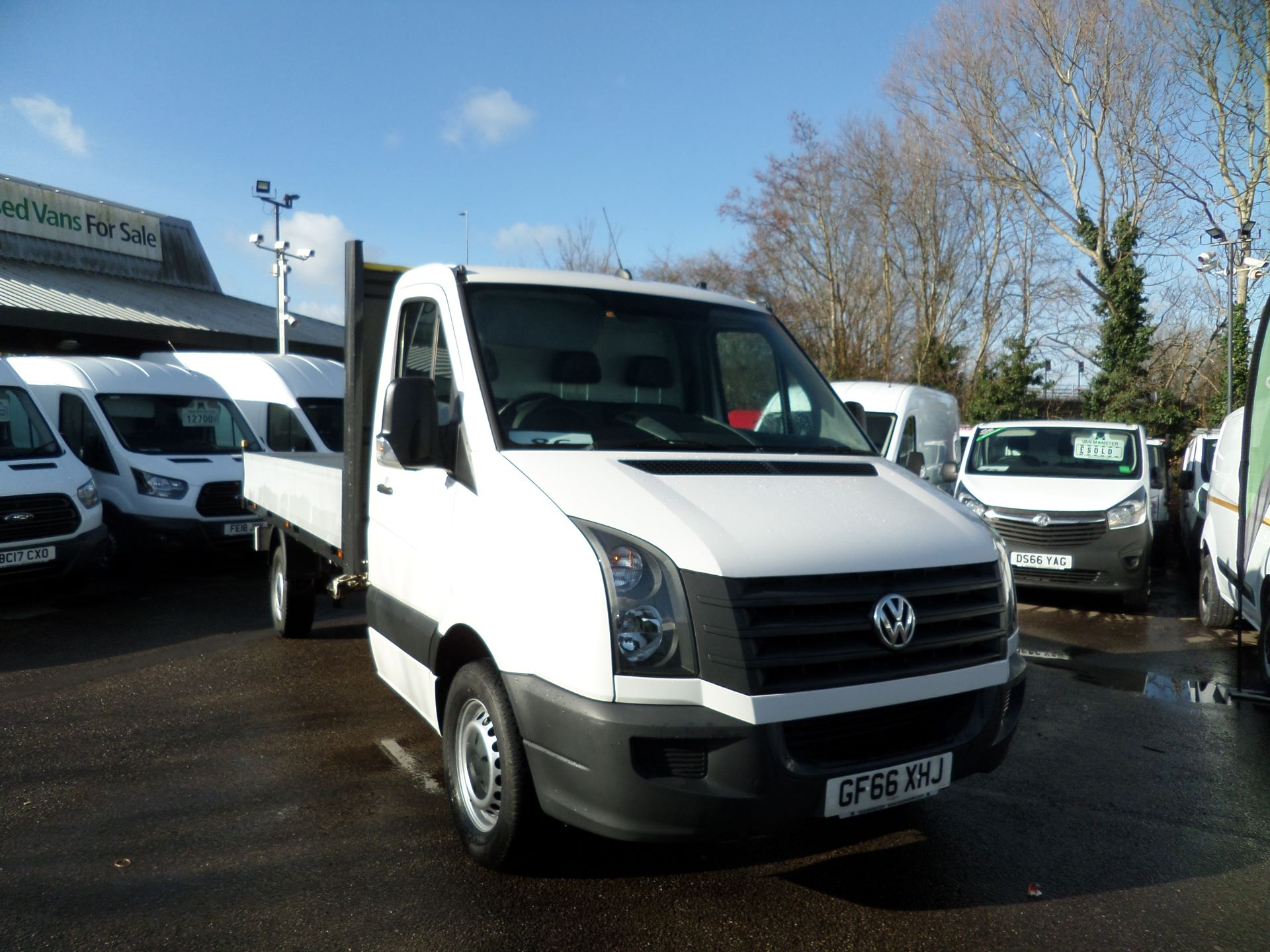2016 Volkswagen Crafter 2.0 Tdi 136Ps Dropside Euro 5 (GF66XHJ) Image 1