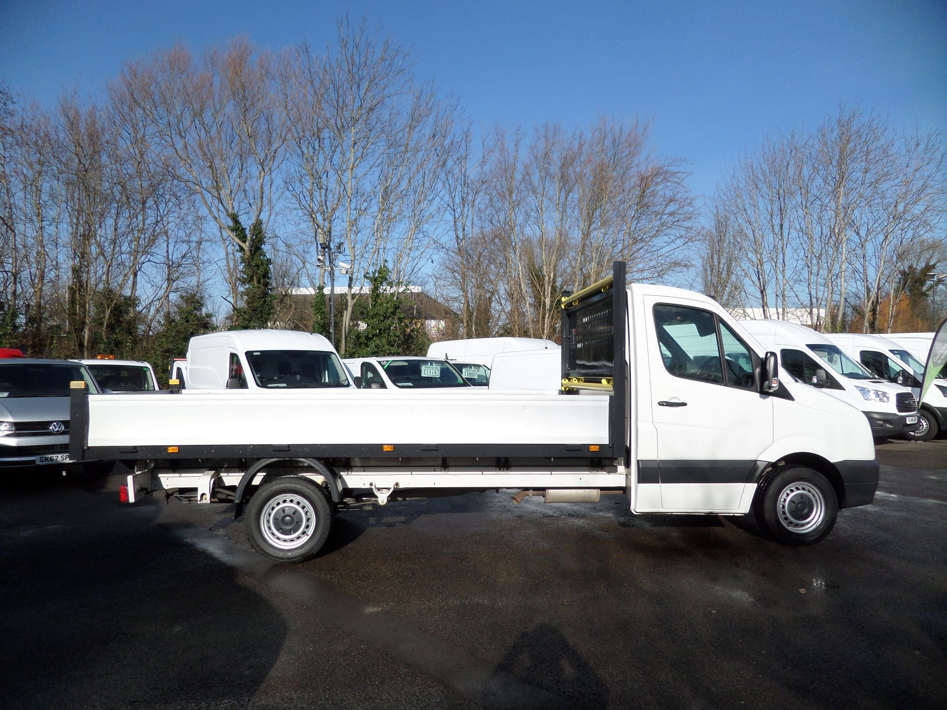 2016 Volkswagen Crafter 2.0 Tdi 136Ps Dropside Euro 5 (GF66XHJ) Image 2