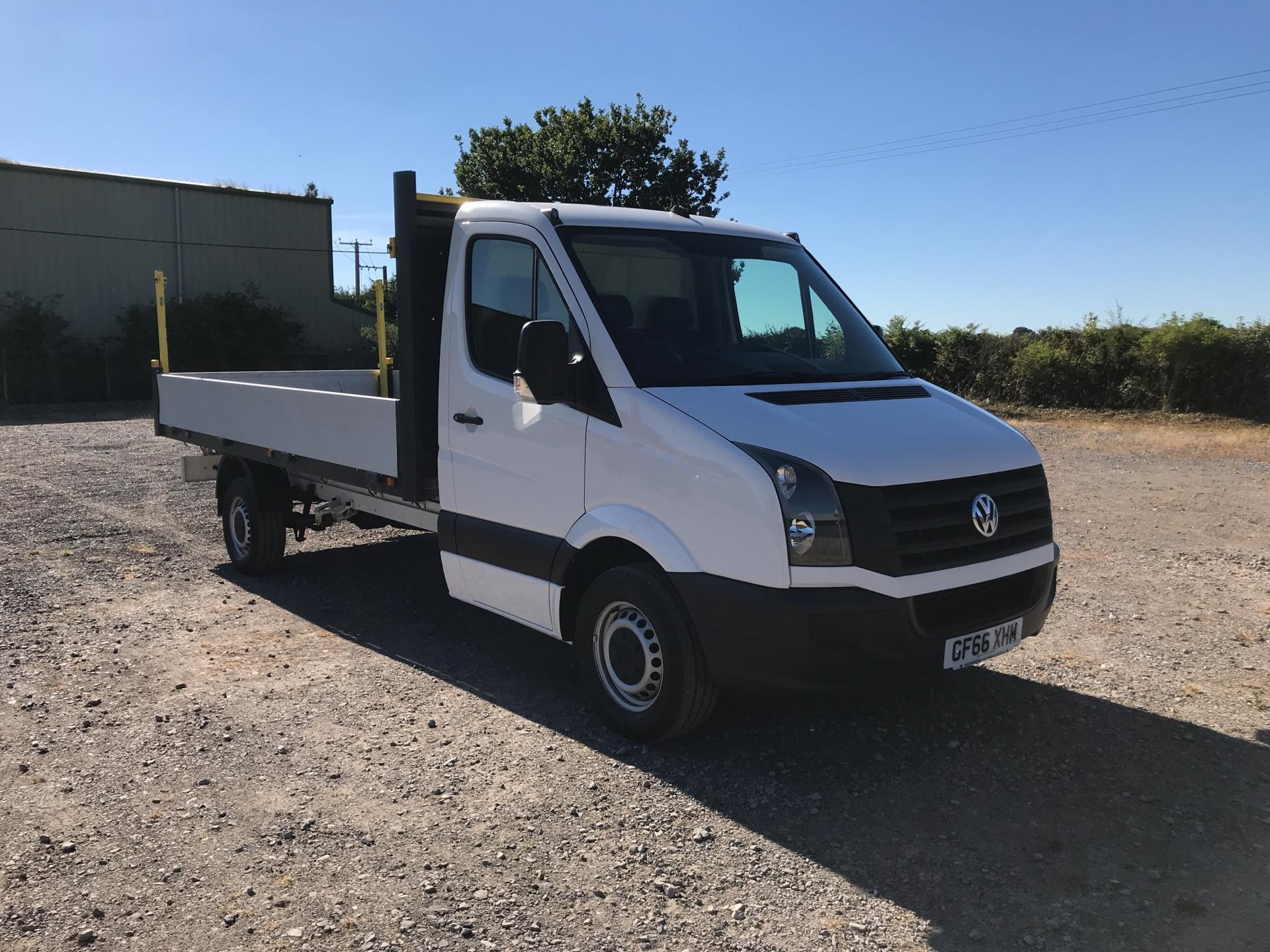 2016 Volkswagen Crafter  CR35 LWB DIESEL 2.0 TDI 136PS DROP SIDE EURO 5 (GF66XHM)