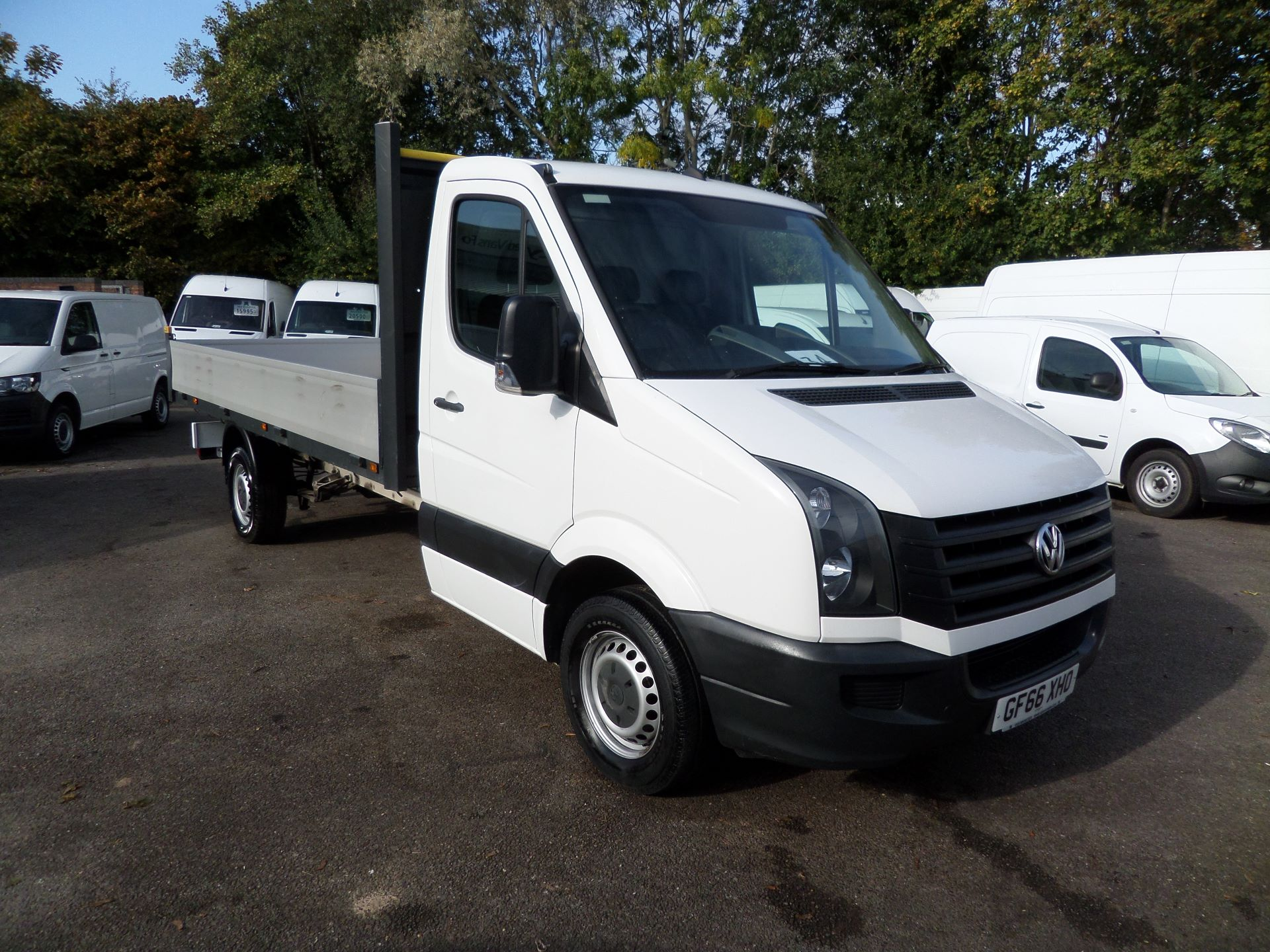 2016 Volkswagen Crafter 2.0 Tdi 136Ps Dropside lwb Euro 5 (GF66XHO)