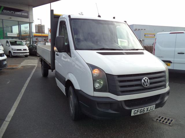 2016 Volkswagen Crafter 2.0 Tdi 136Ps Single Cab Dropside CR35 Startline TDI (GF66XJJ)