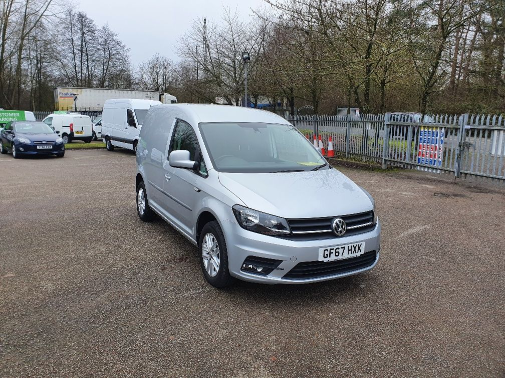 2017 Volkswagen Caddy 2.0 Tdi Bluemotion Tech 102Ps Highline Van (GF67HXK)