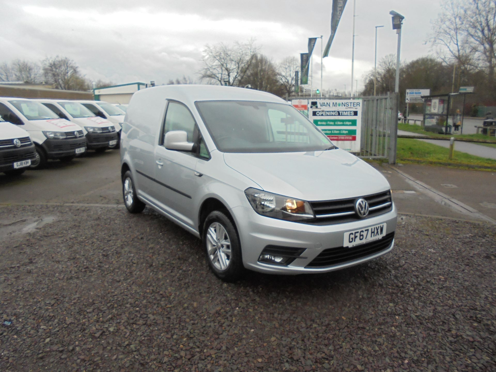 2017 Volkswagen Caddy 2.0 102PS BLUEMOTION TECH 102PS HIGHLINE EURO 6 (GF67HXW)