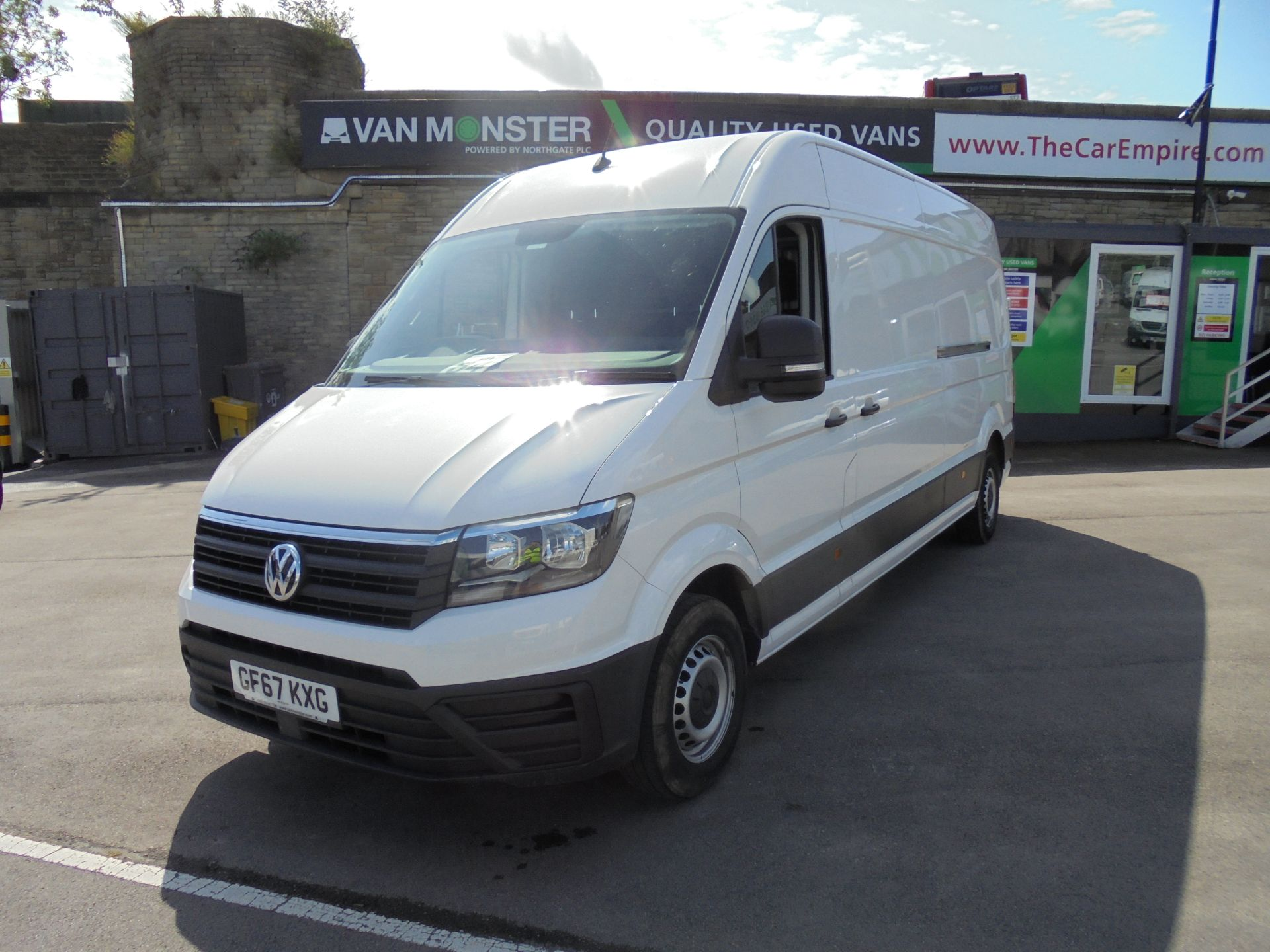2017 Volkswagen Crafter 2.0 Tdi 140Ps Startline High Roof Van (GF67KXG) Thumbnail 3