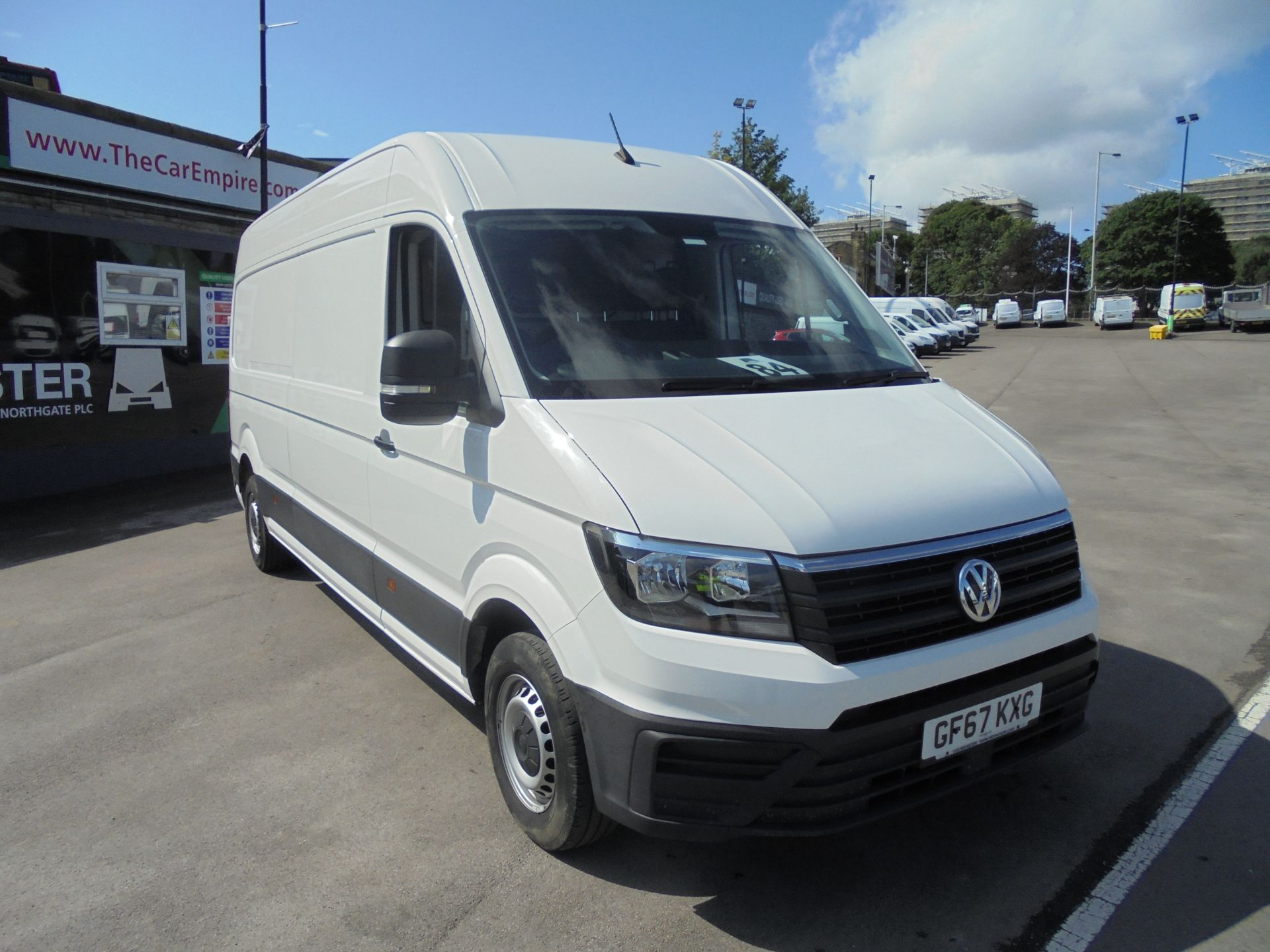2017 Volkswagen Crafter 2.0 Tdi 140Ps Startline High Roof Van (GF67KXG) Thumbnail 1