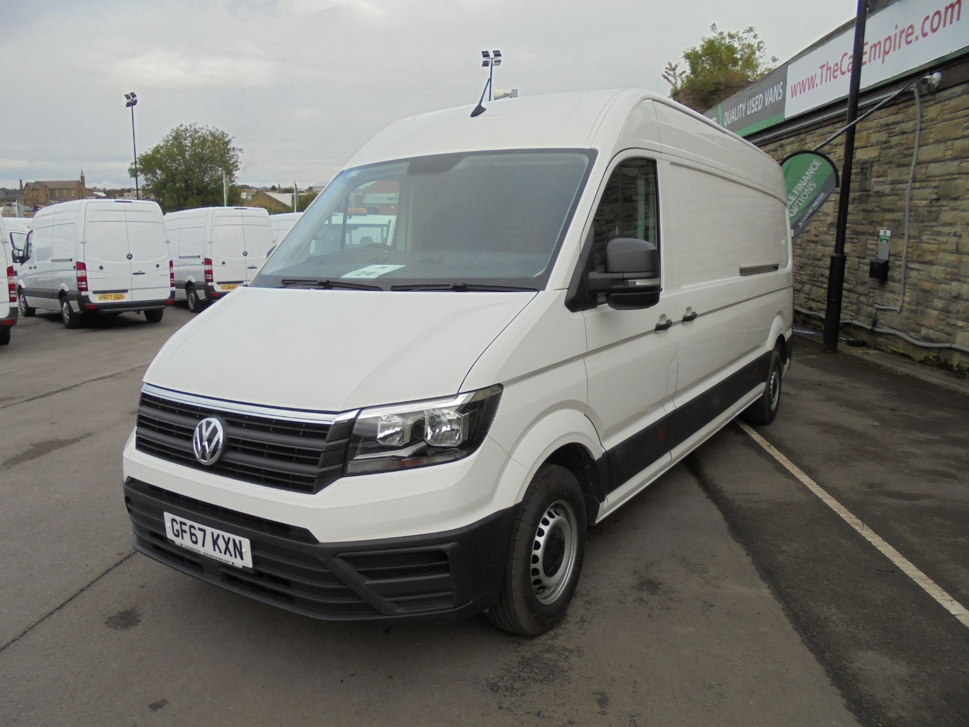 2017 Volkswagen Crafter 2.0 Tdi 140Ps Startline High Roof Van (GF67KXN) Thumbnail 3