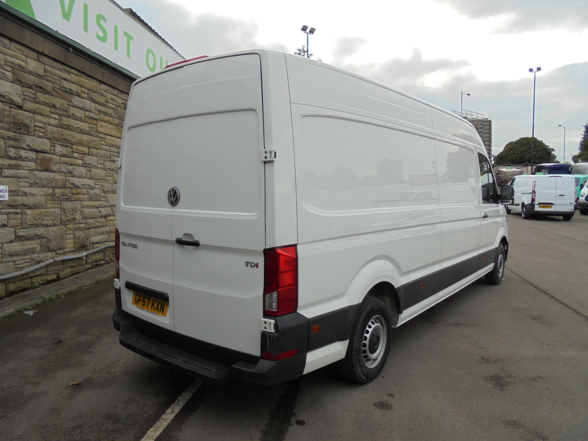 2017 Volkswagen Crafter 2.0 Tdi 140Ps Startline High Roof Van (GF67KXN) Thumbnail 7